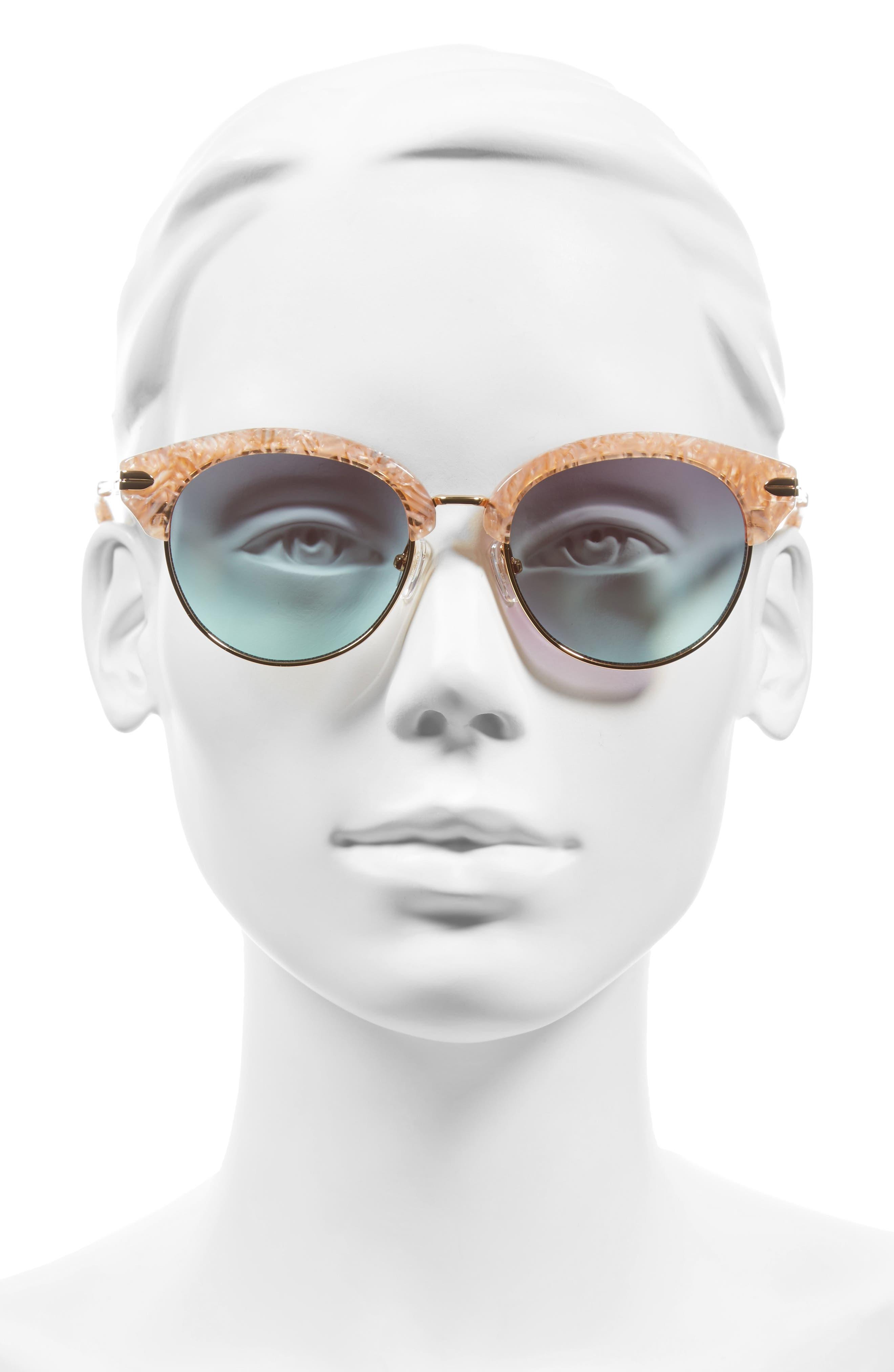 Alternate Image 4  - Sonix Bellevue 50mm Mirrored Sunglasses