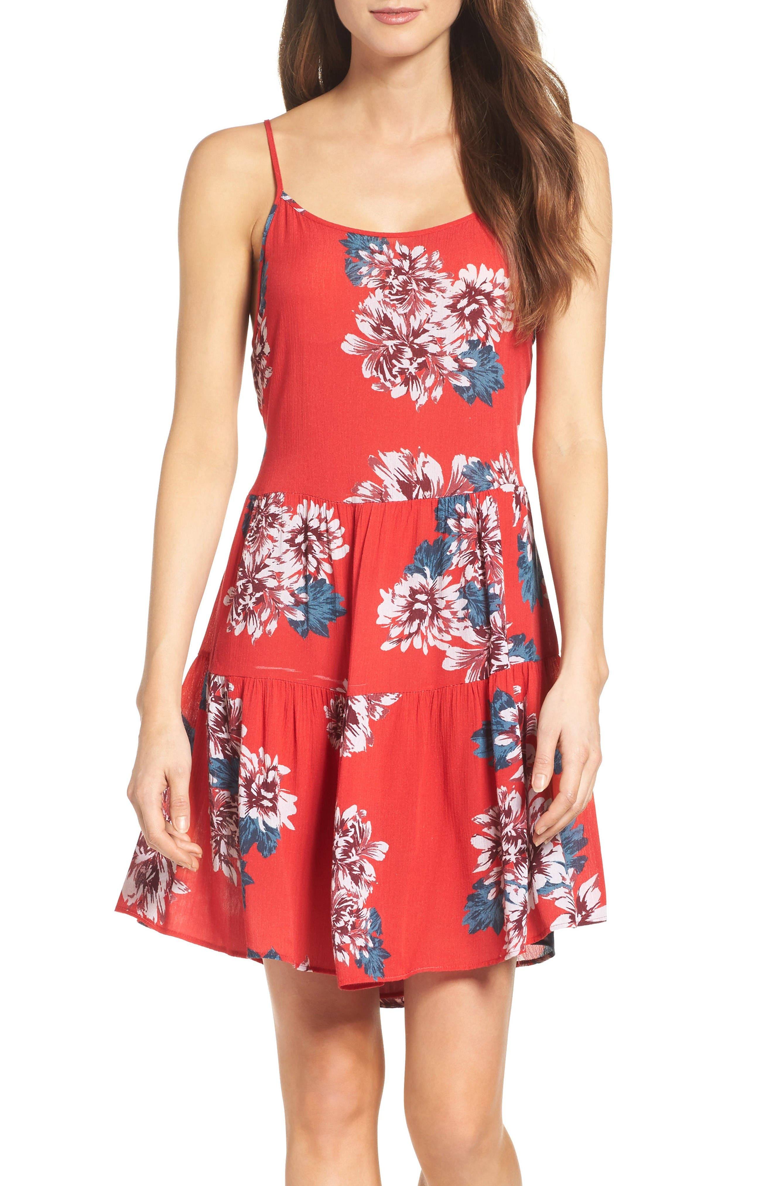 Main Image - Mary & Mabel Floral Dress