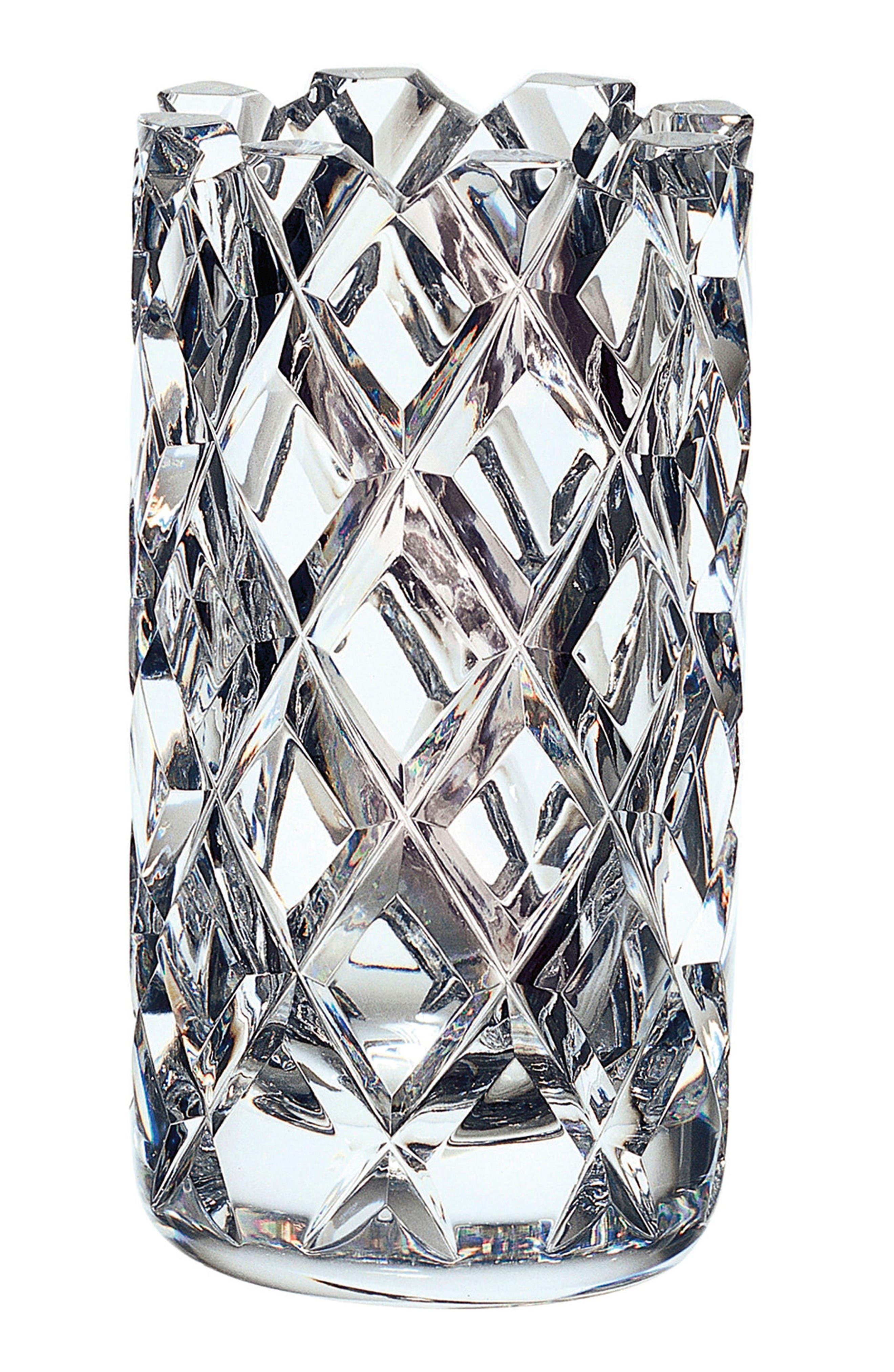 Sofiero Crystal Vase,                         Main,                         color, Clear