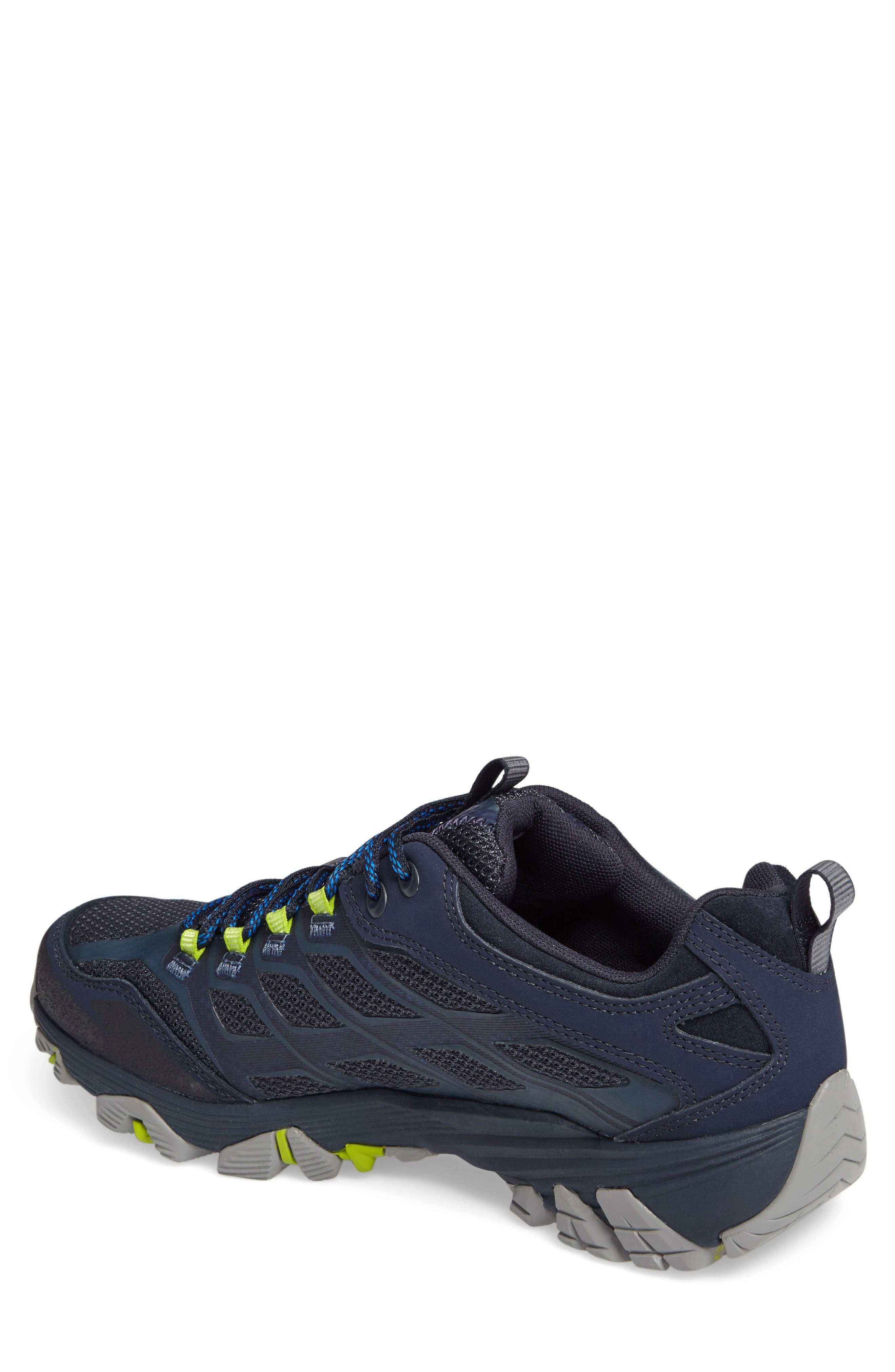 Moab FST Hiking Shoe,                             Alternate thumbnail 2, color,                             Navy