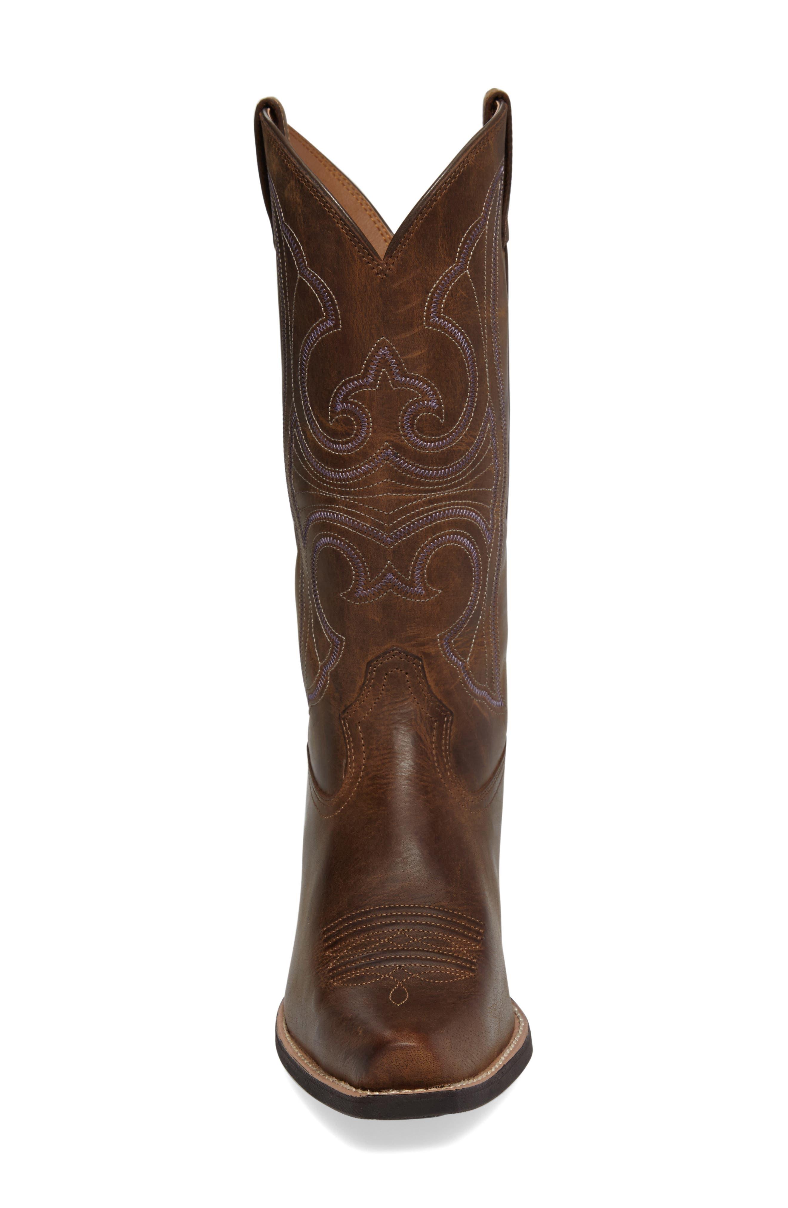 Alternate Image 3  - Ariat Round Up D-Toe Western Boot (Women)