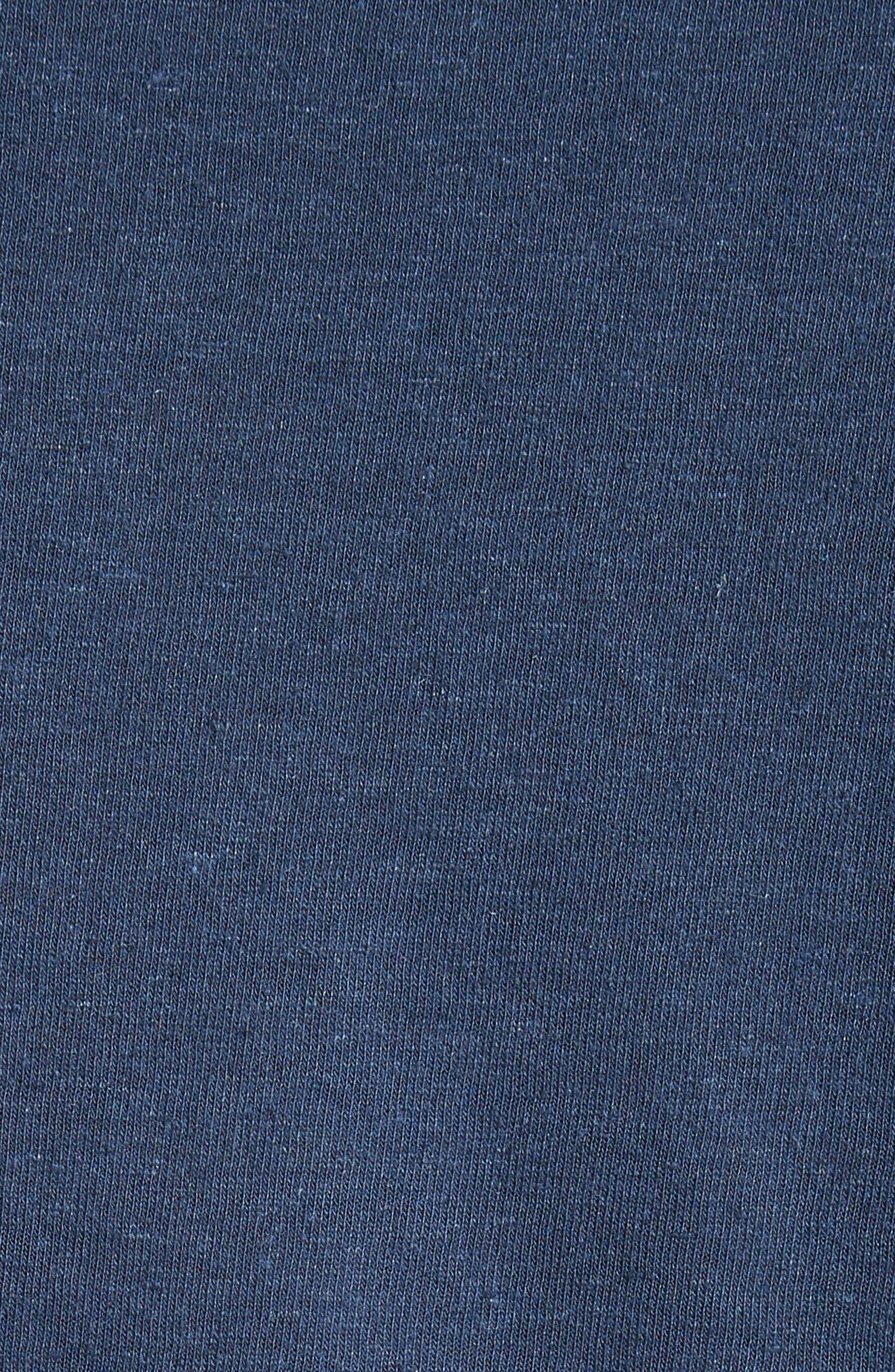 Alternate Image 5  - ONIA Chad Linen Blend Pocket T-Shirt
