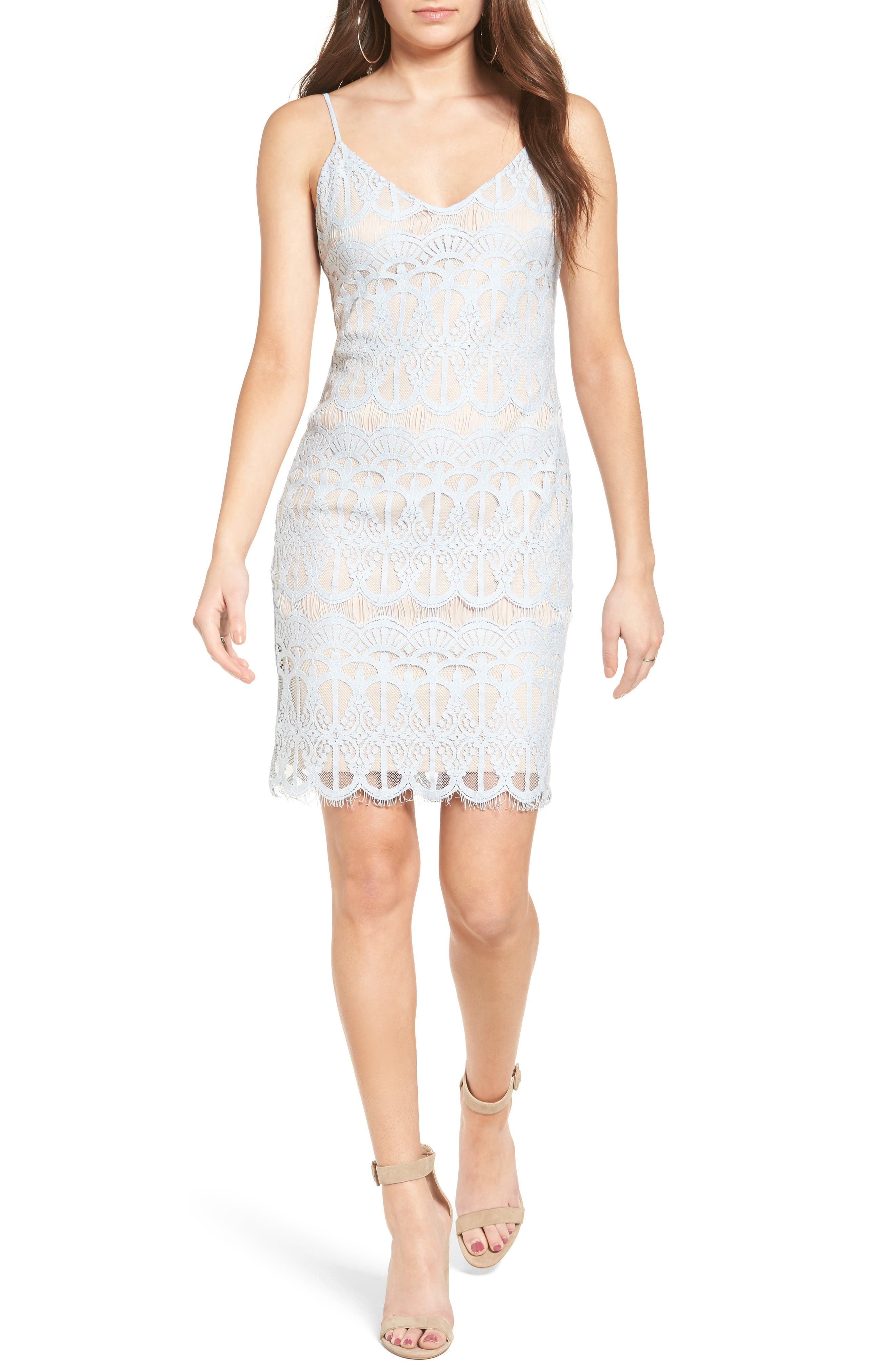 Leith Lace Body-Con Slipdress