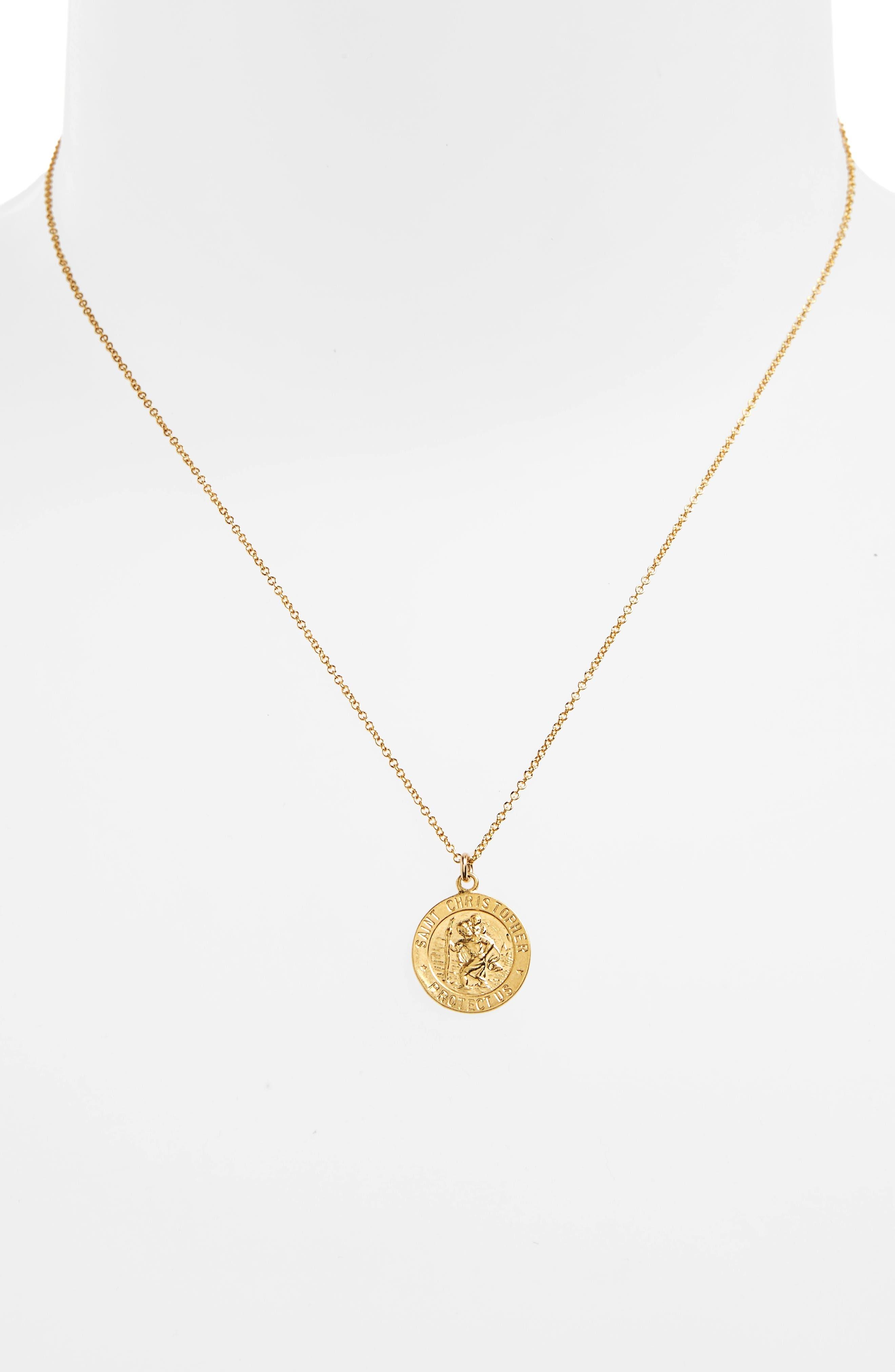 Alternate Image 3  - Dogeared St. Christopher Pendant Necklace