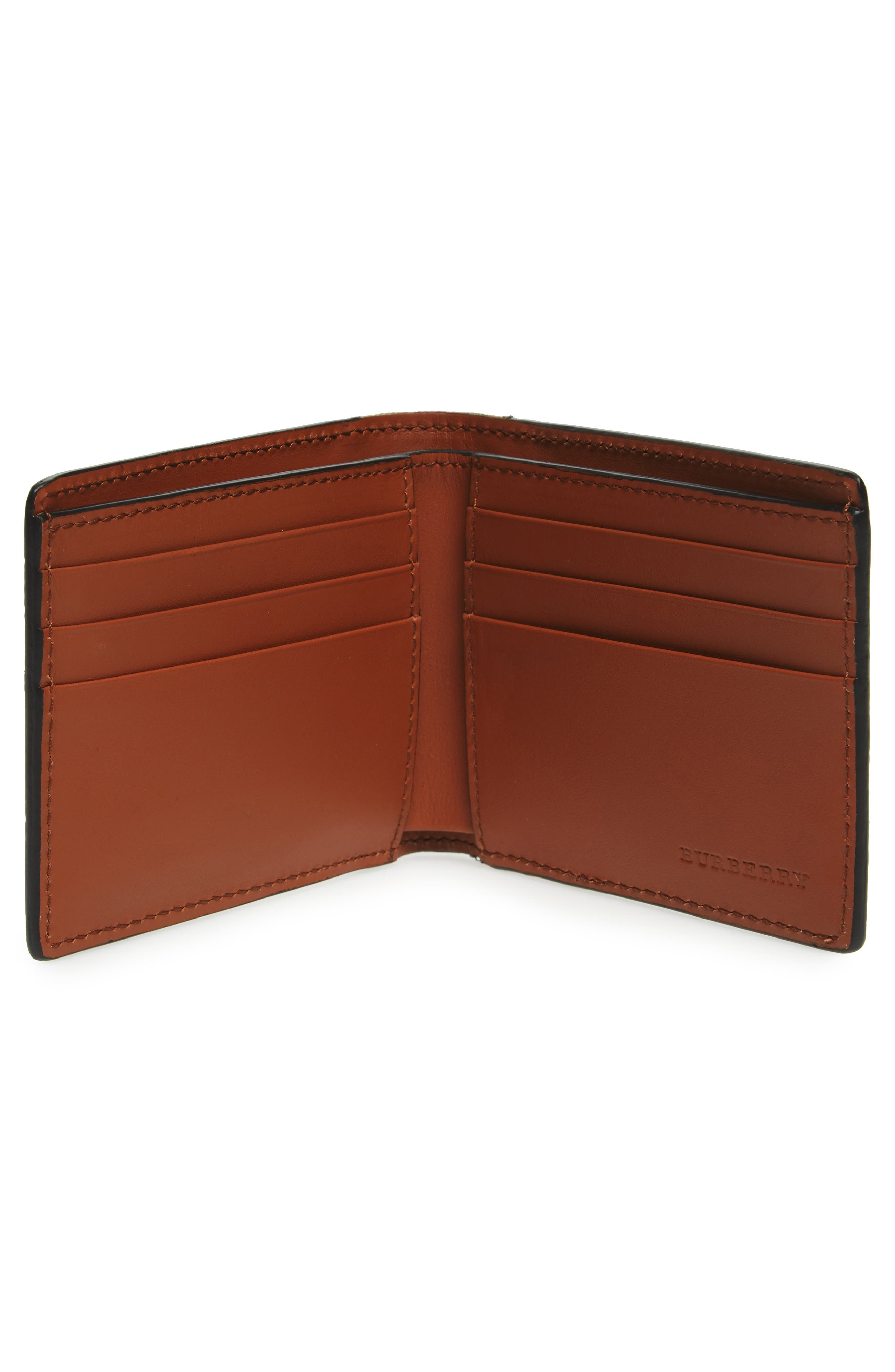 Alternate Image 2  - Burberry Leather Wallet