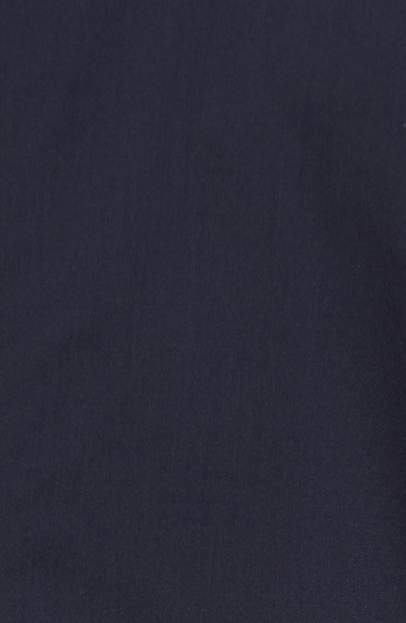 Trim Fit Wool Blazer,                             Alternate thumbnail 5, color,                             Navy