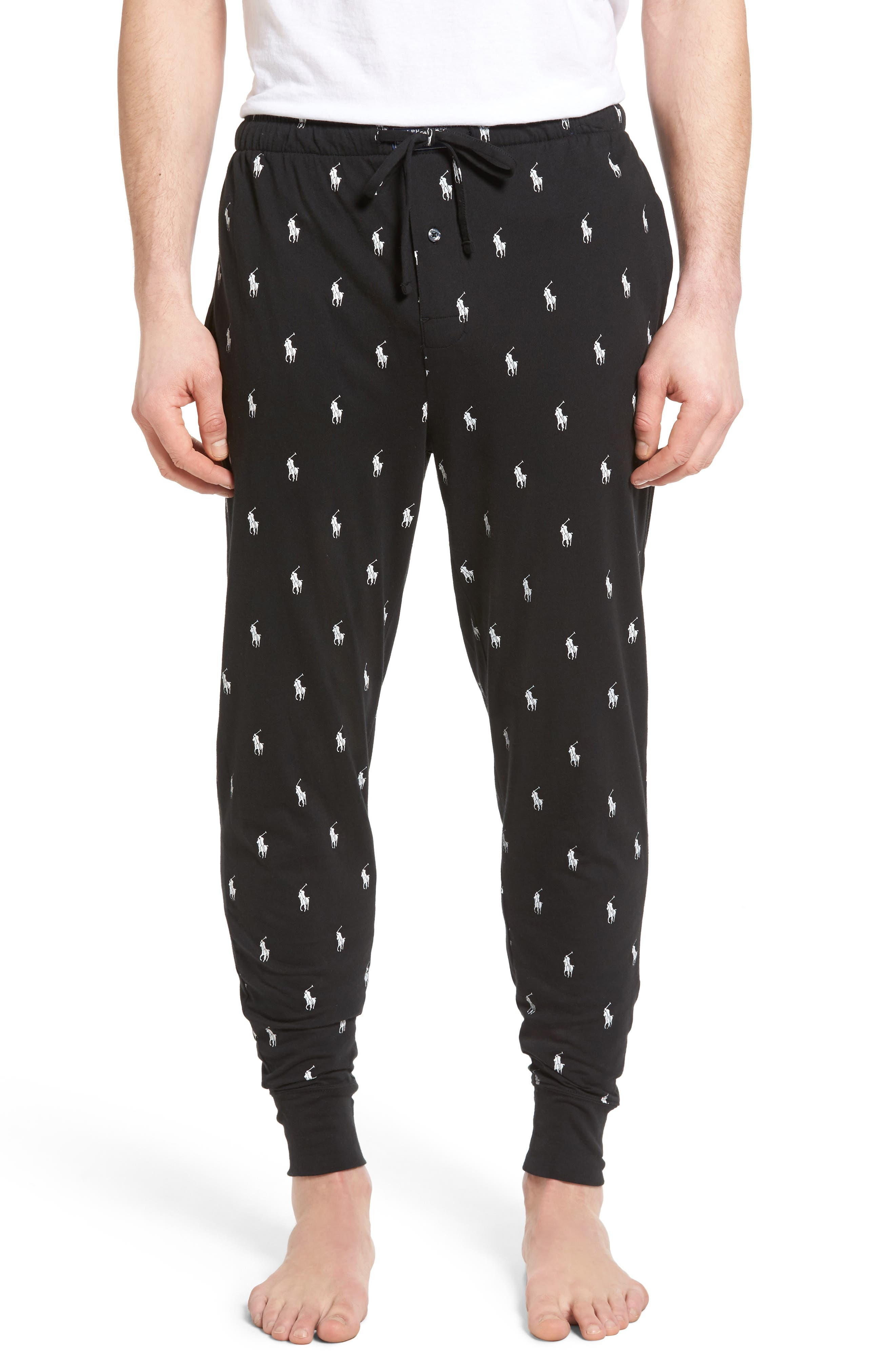 Alternate Image 1 Selected - Polo Ralph Lauren Knit Pony Lounge Pants