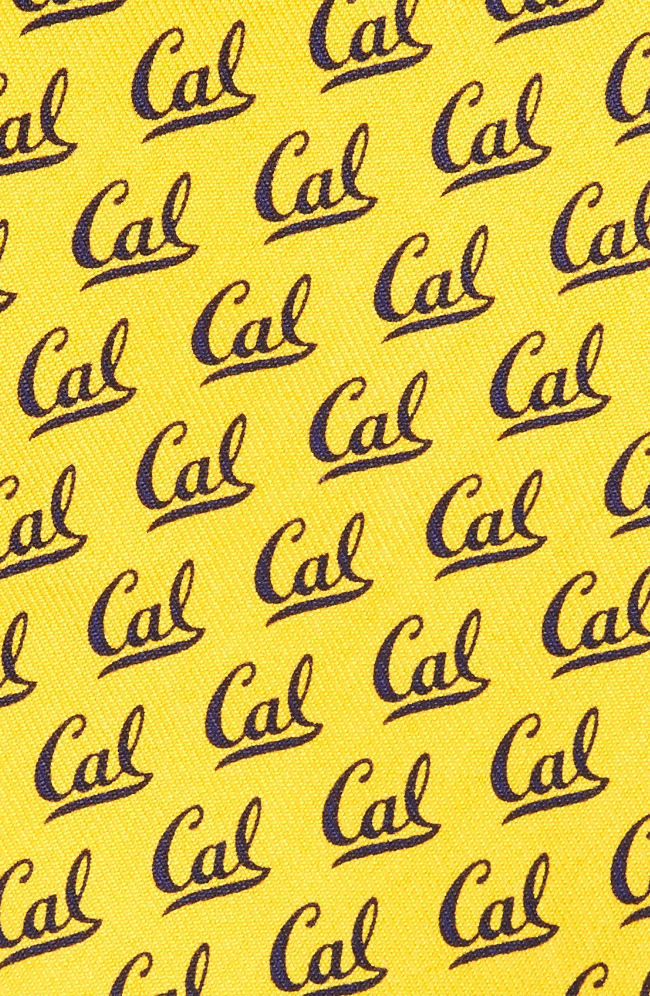 University of California Silk Tie,                             Alternate thumbnail 2, color,                             Yellow