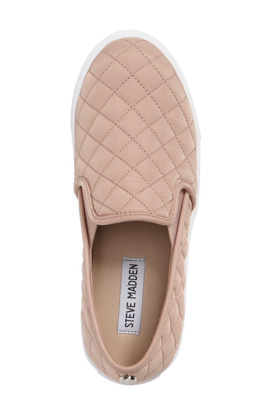 'Ecntrcqt' Sneaker,                             Alternate thumbnail 3, color,                             Blush Fabric