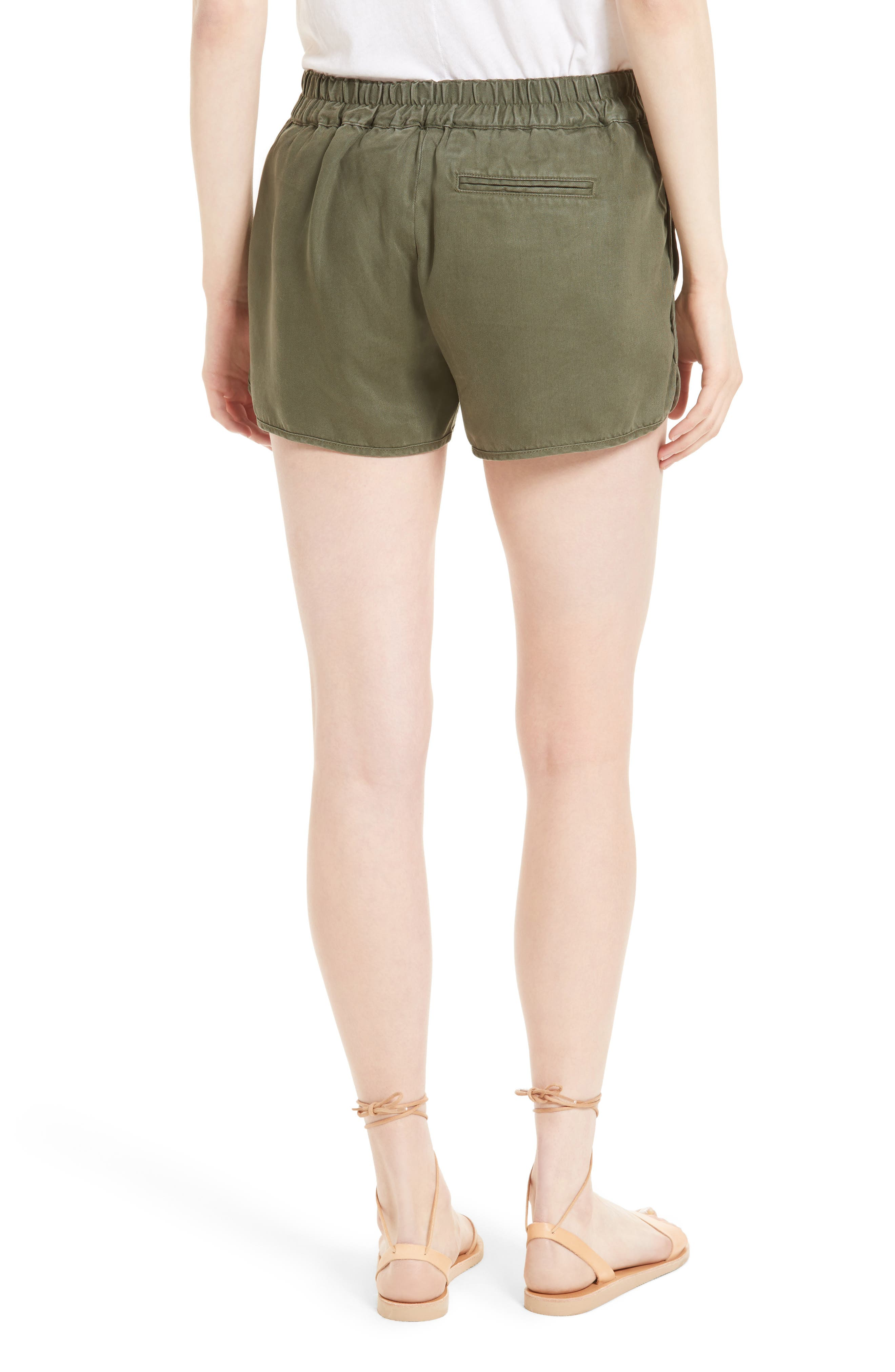 Alternate Image 2  - Soft Joie Delavina Tencel® Twill Shorts