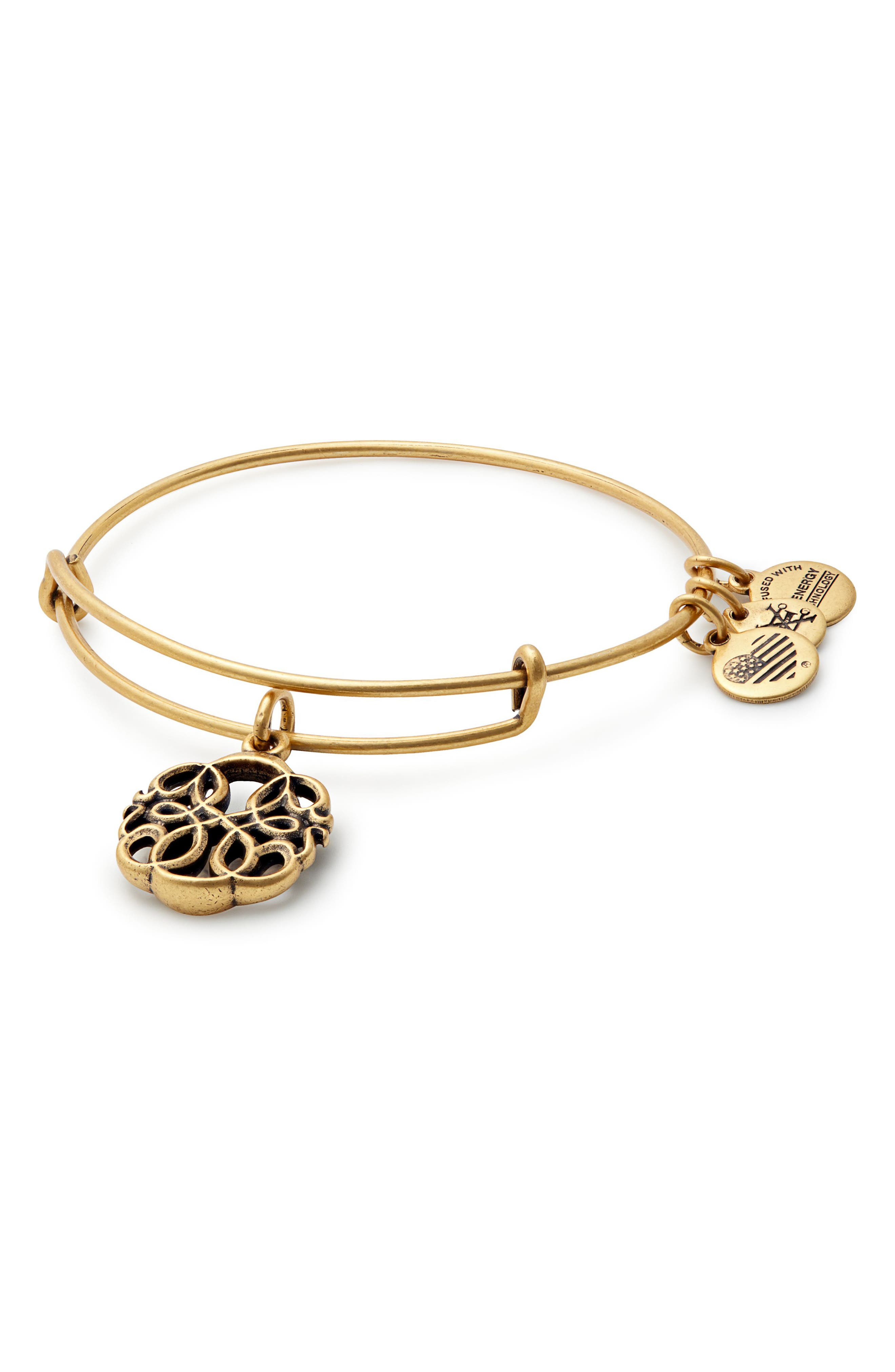 Alex and Ani Path of Life Adjustable Wire Bangle (Nordstrom Exclusive)