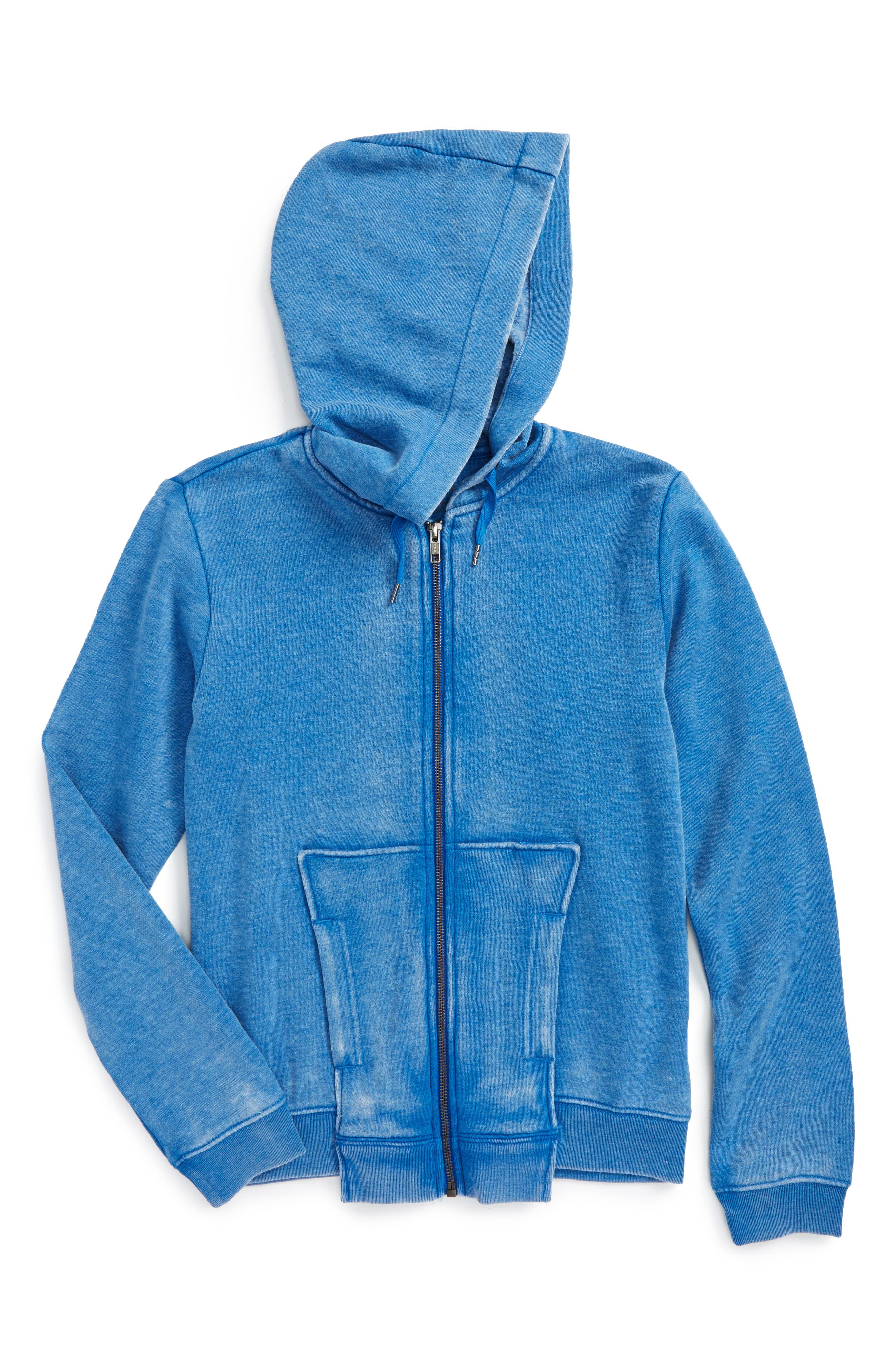 Alternate Image 1 Selected - Hudson Kids Mishap Hoodie (Big Boys)