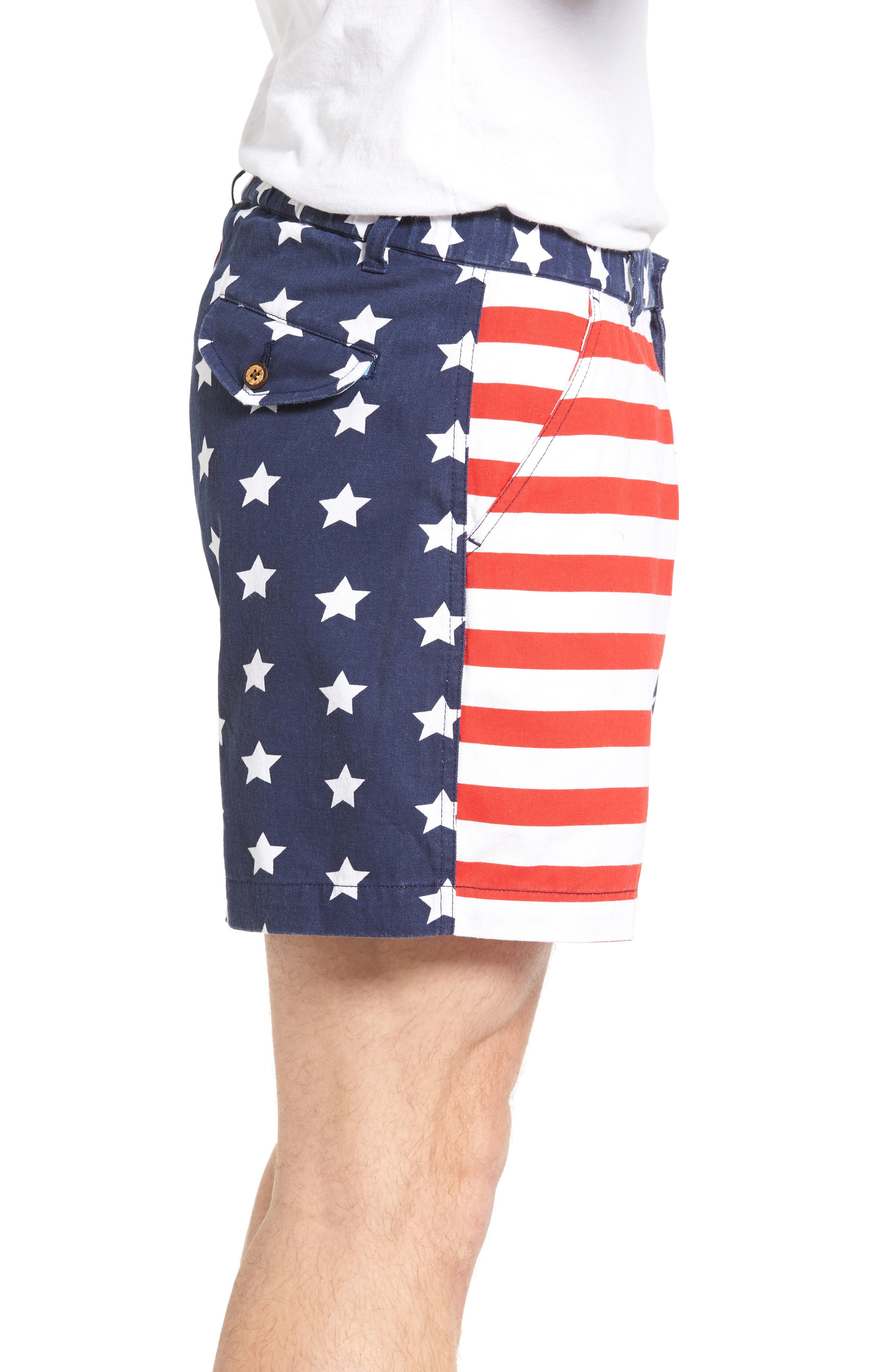 Alternate Image 3  - Vintage 1946 Snappers Americana Shorts