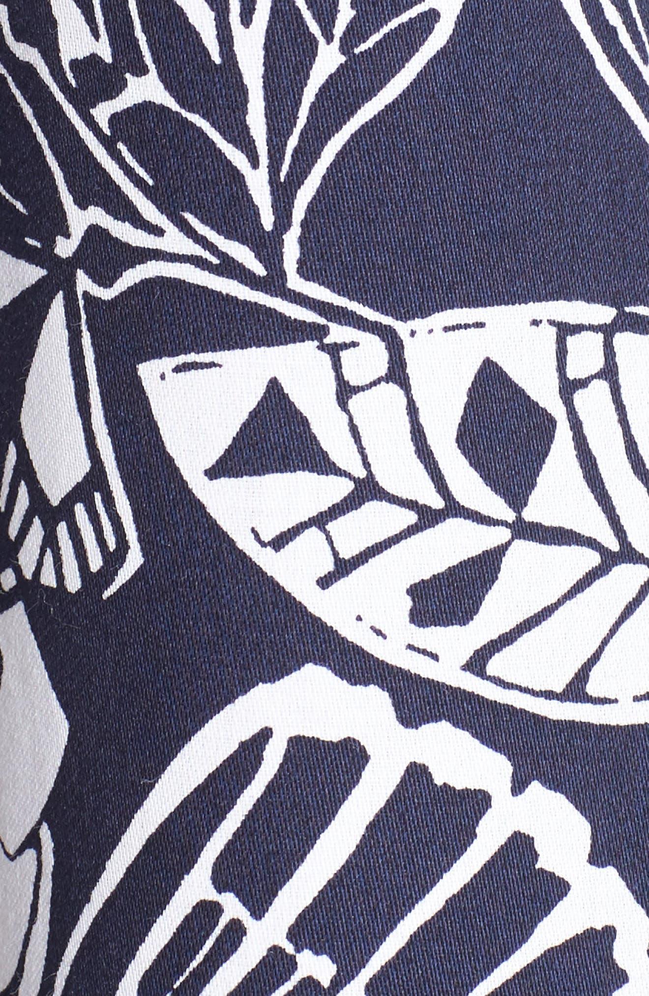 Alternate Image 5  - Foxcroft Floral Print Shirt (Regular & Petite)