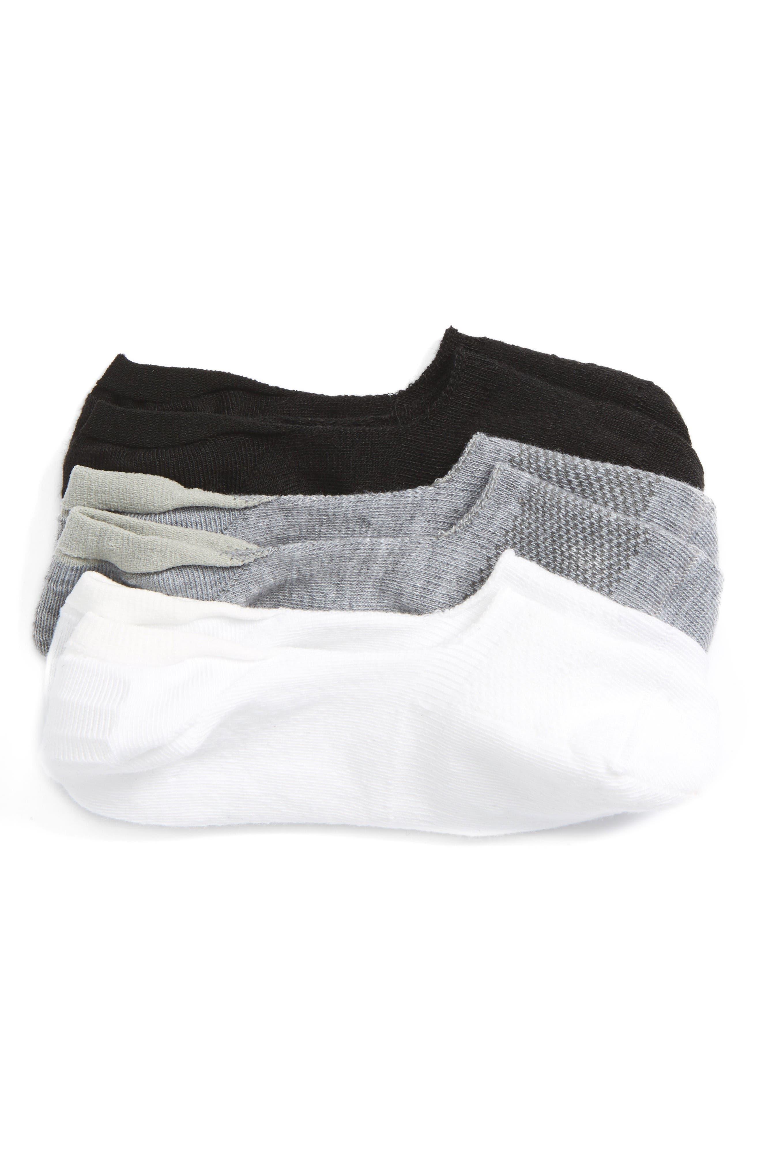 Main Image - Tucker + Tate Assorted 3-Pack Liner Socks (Walker, Toddler, Little Kid & Big Kid)