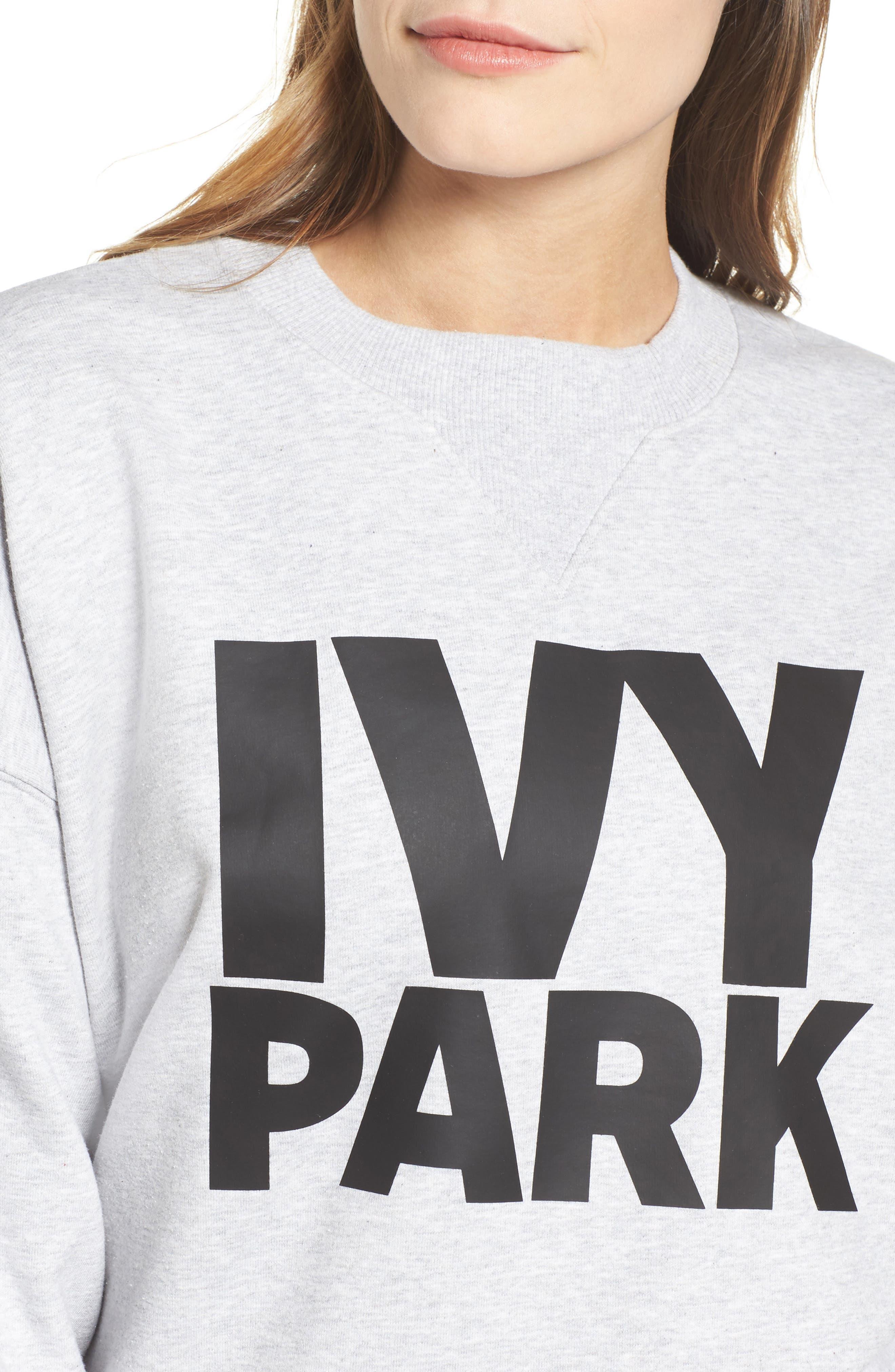 Alternate Image 4  - IVY PARK® Logo Sweatshirt