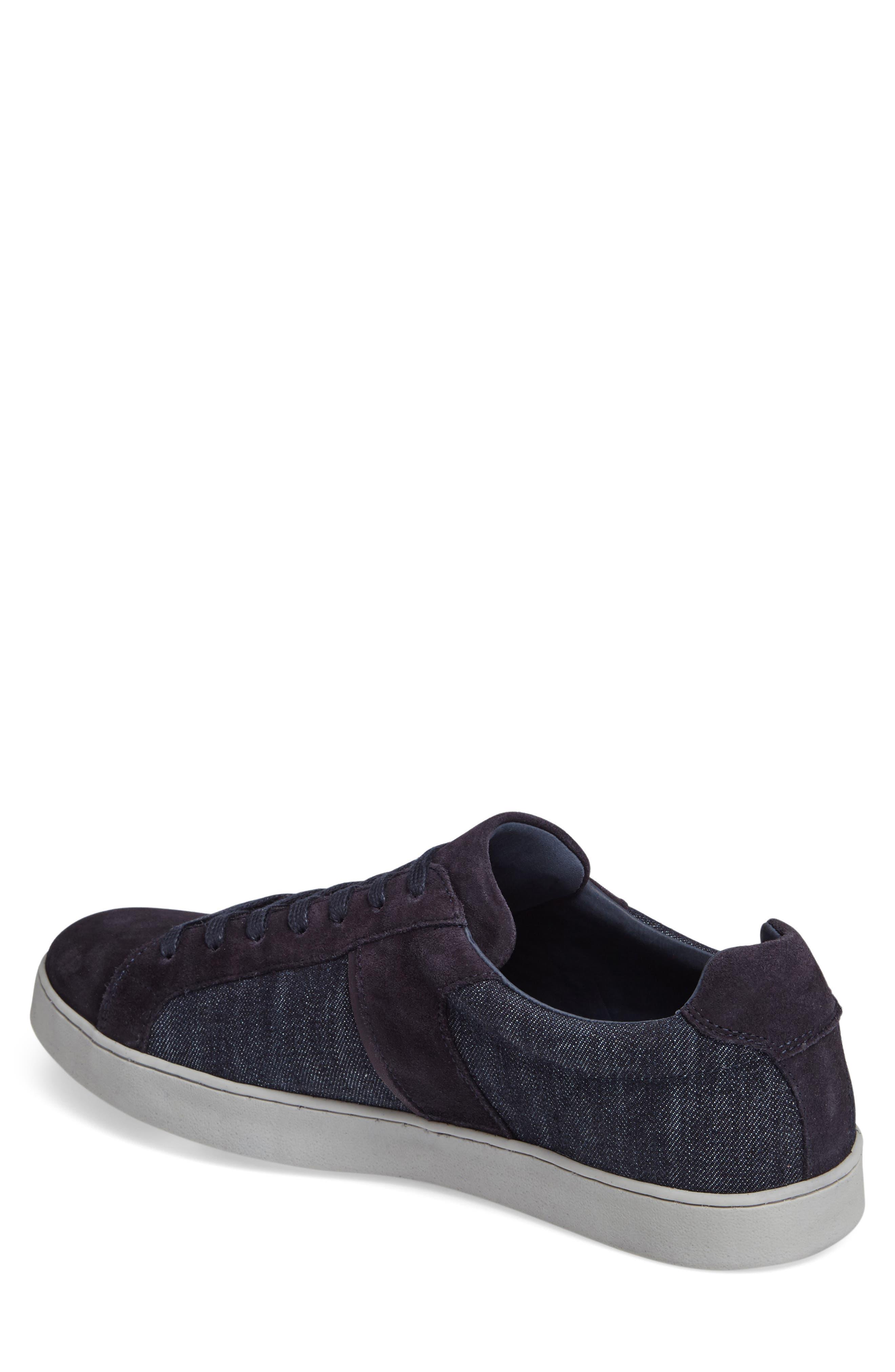Ginx Sneaker,                             Alternate thumbnail 2, color,                             Marino Suede
