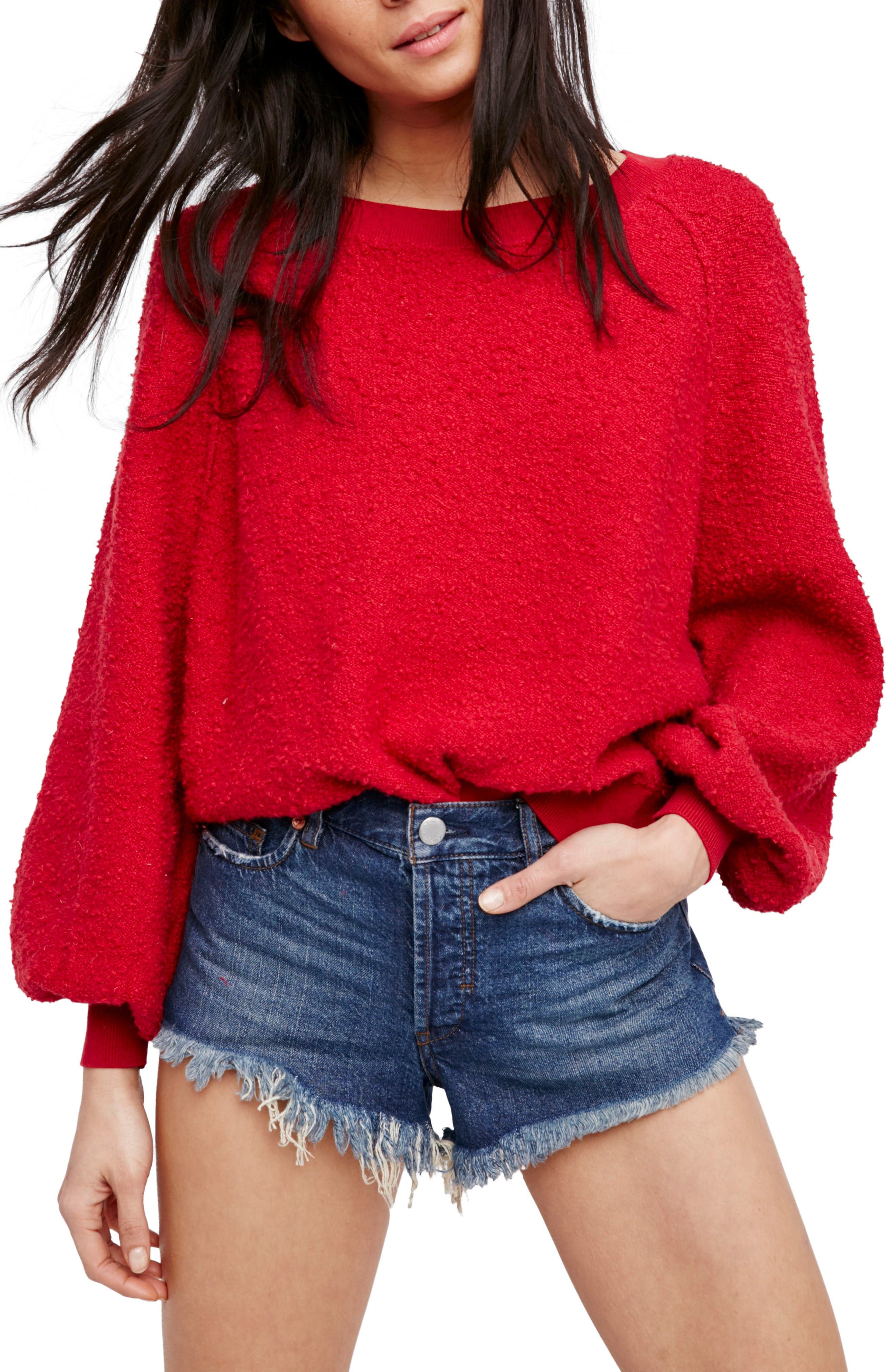 Alternate Image 1 Selected - Free People Found My Friend Sweatshirt