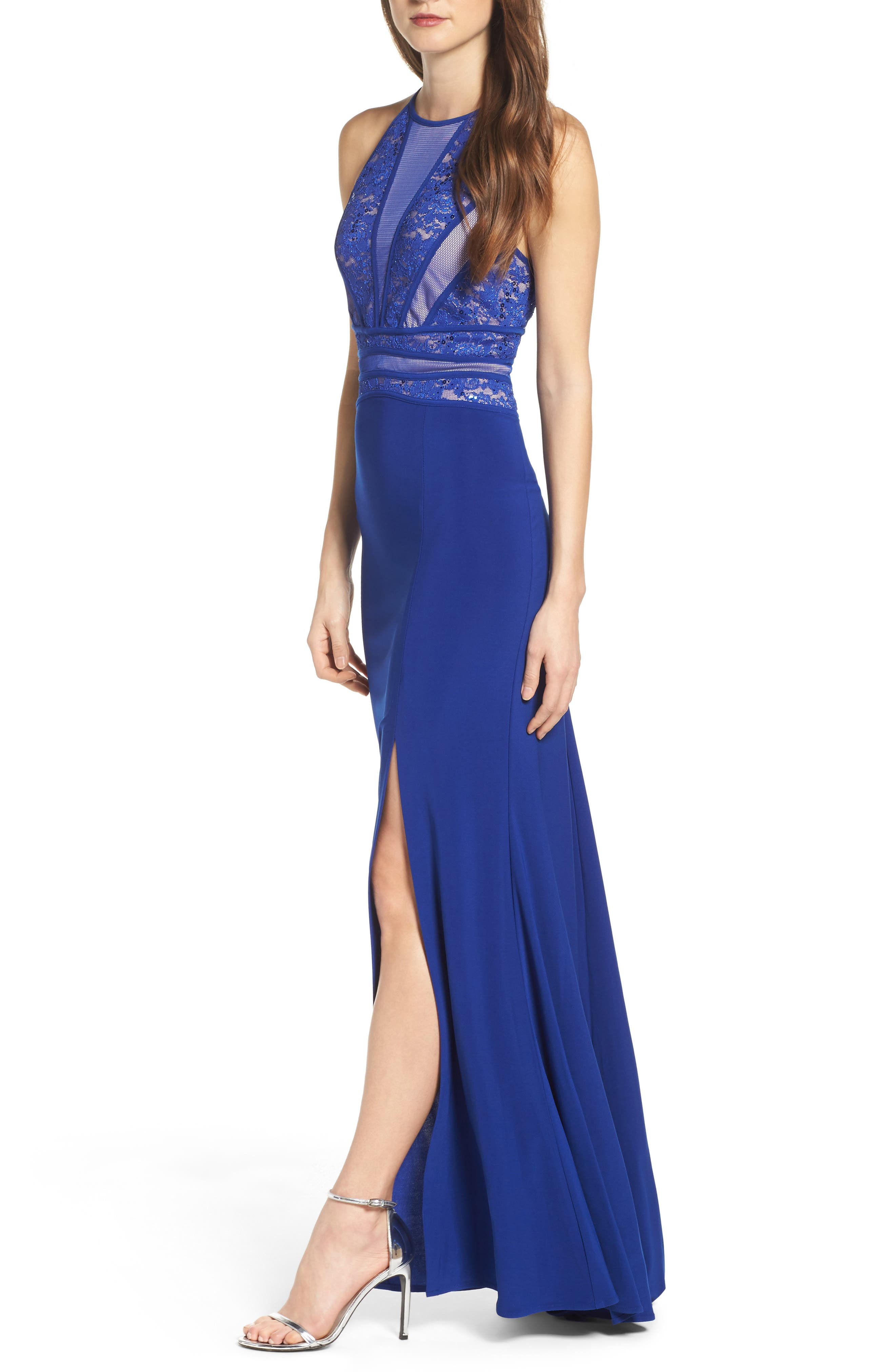 Alternate Image 4  - Morgan & Co. Embellished Gown