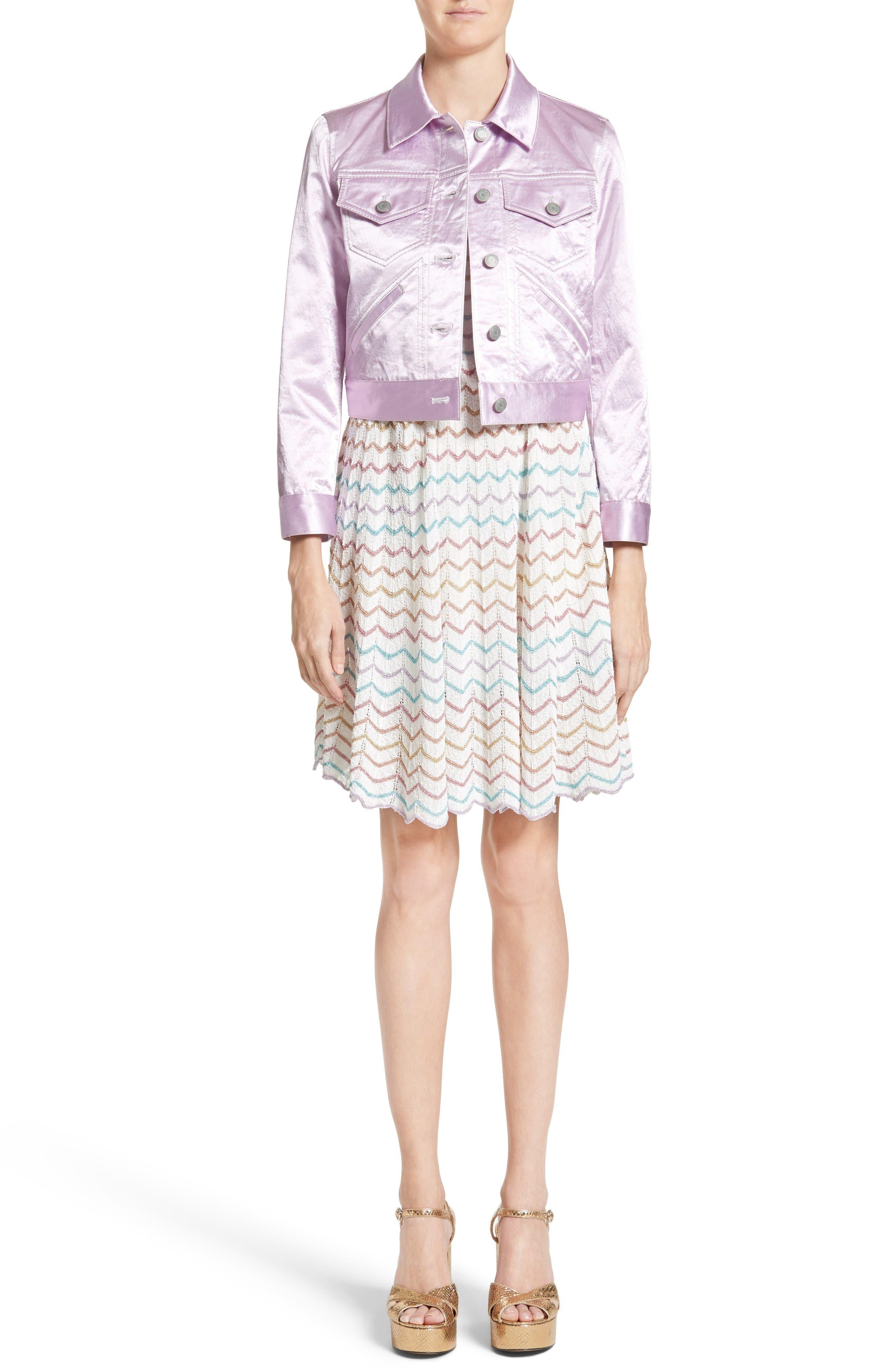 Alternate Image 7  - MARC JACOBS Knit Babydoll Dress