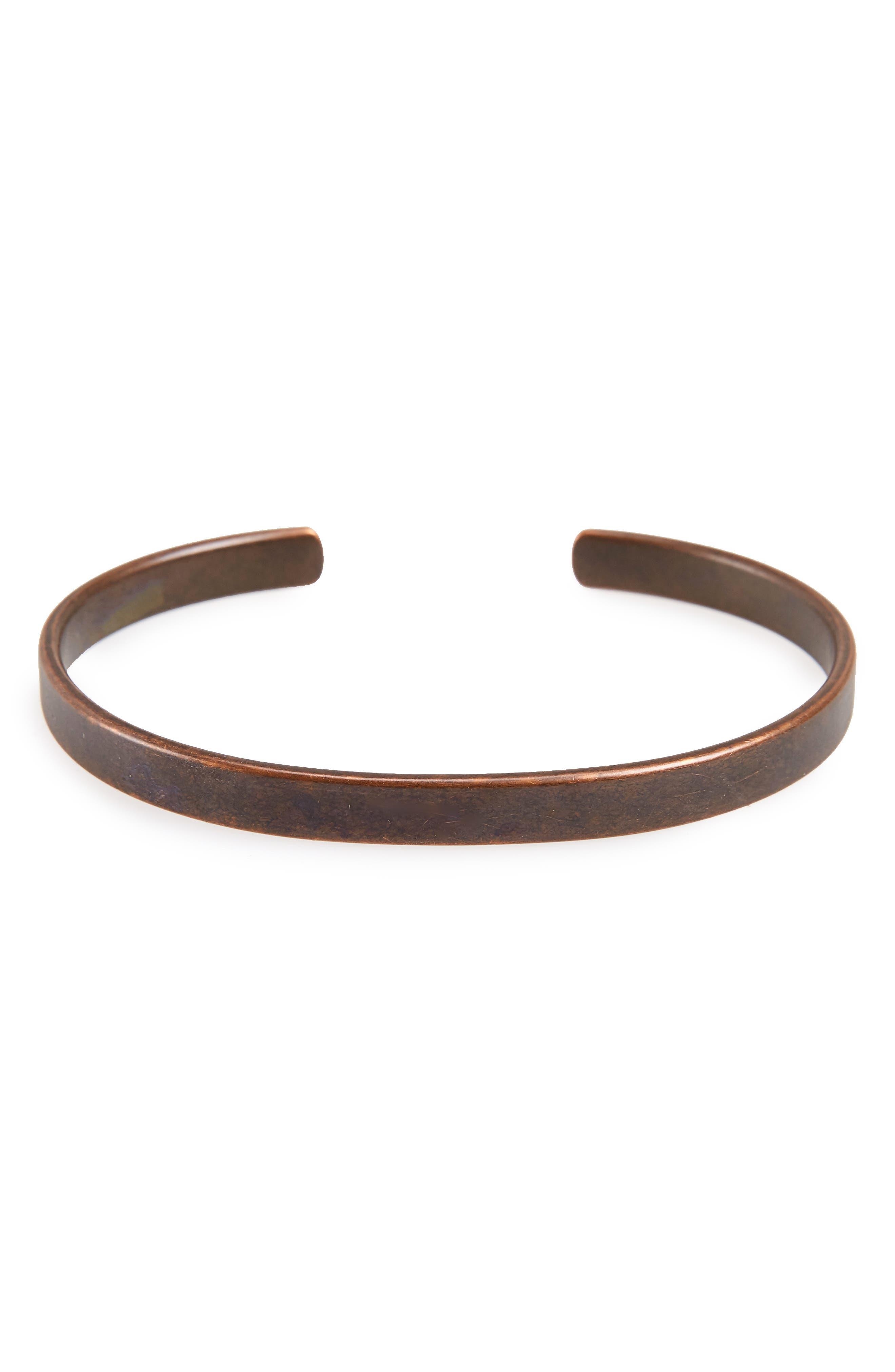 Main Image - Caputo & Co. Metal Cuff Bracelet