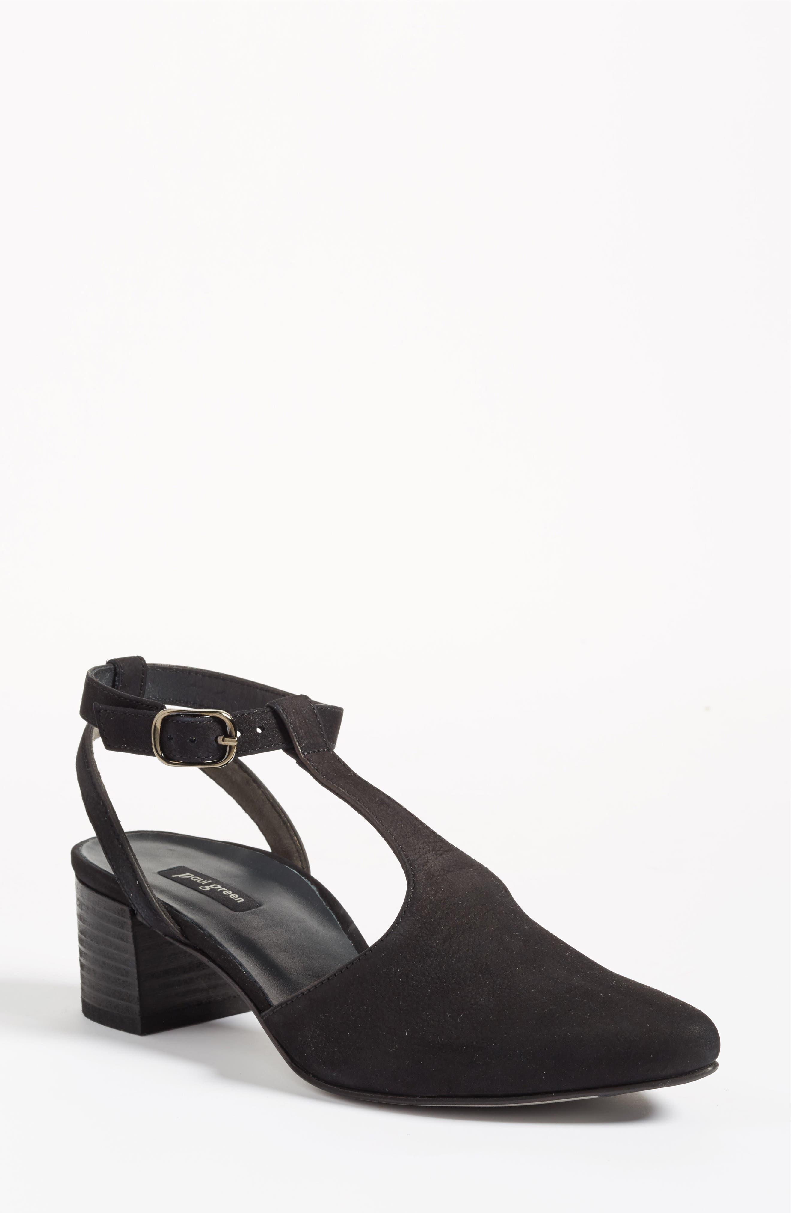 Paul Green Maggie Block Heel Pump (Women)