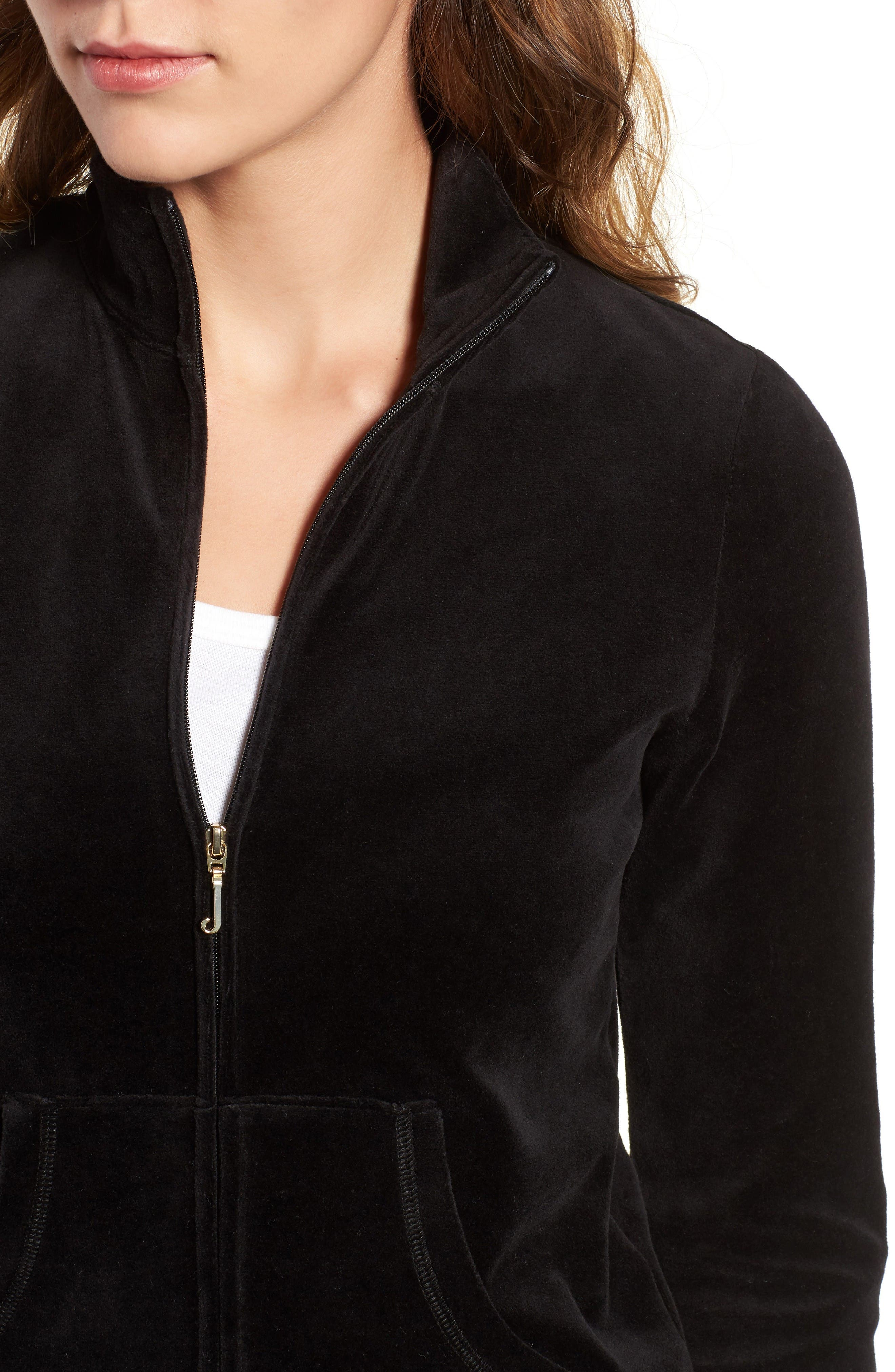 Alternate Image 4  - Juicy Couture Fairfax Terry Track Jacket