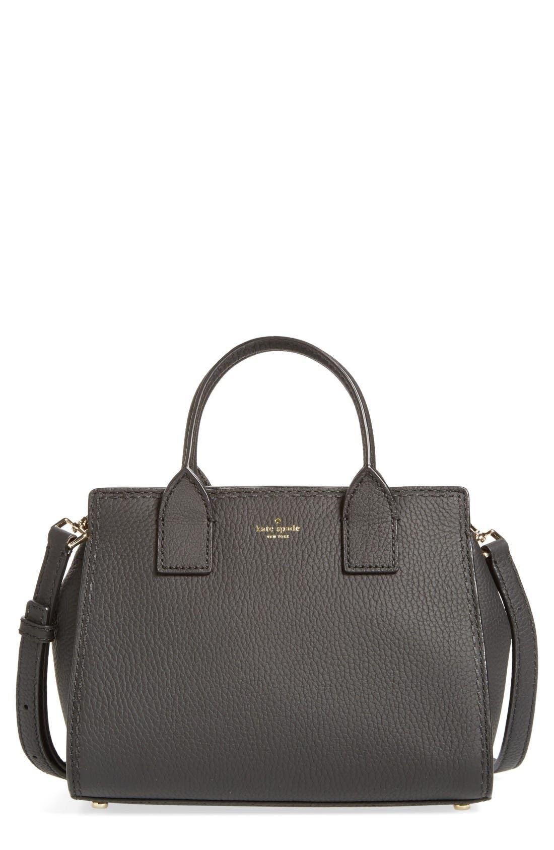 KATE SPADE NEW YORK dunne lane small lake leather satchel