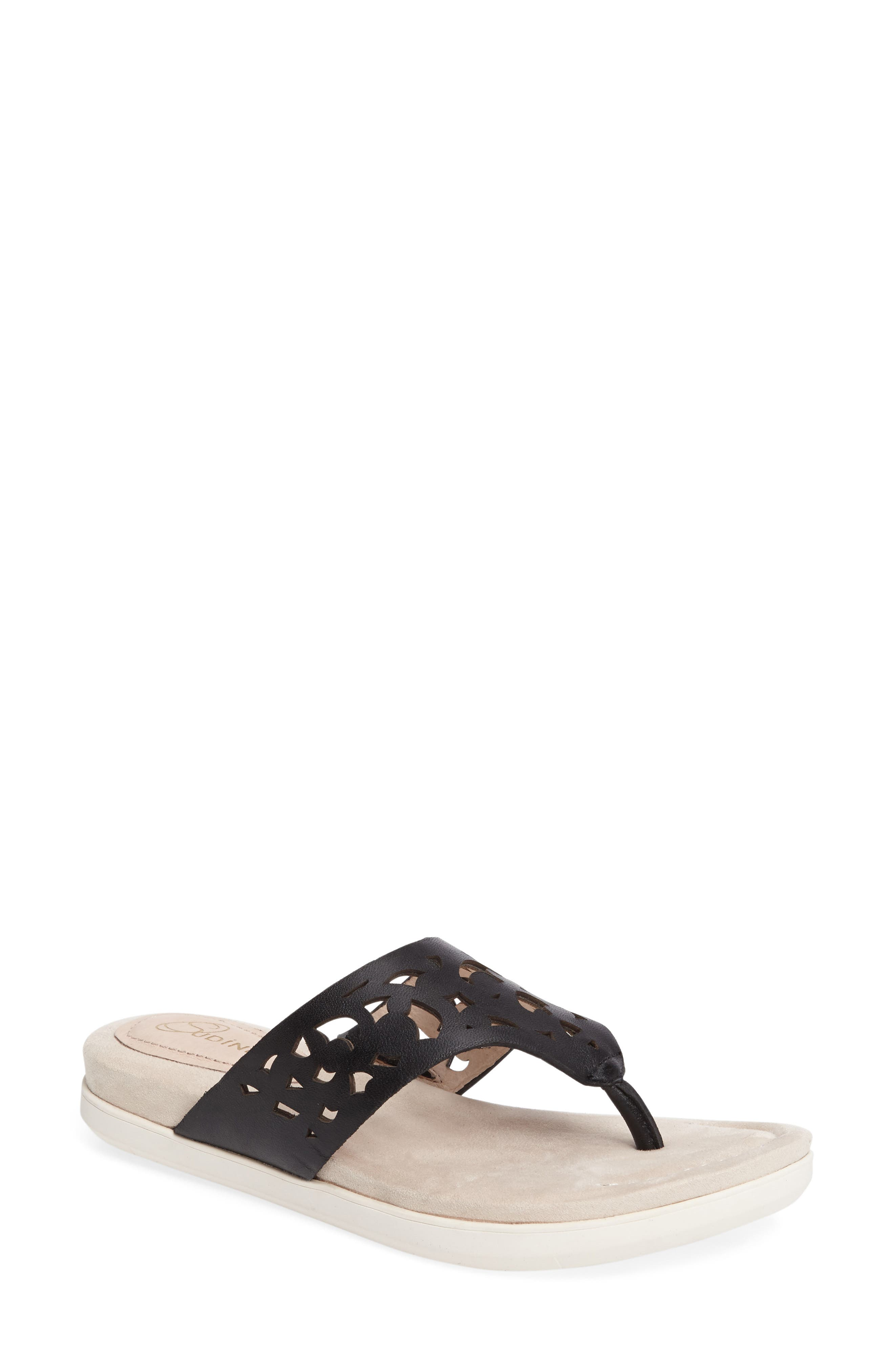 Alternate Image 1 Selected - Sudini Sally Perforated Flip Flop (Women)
