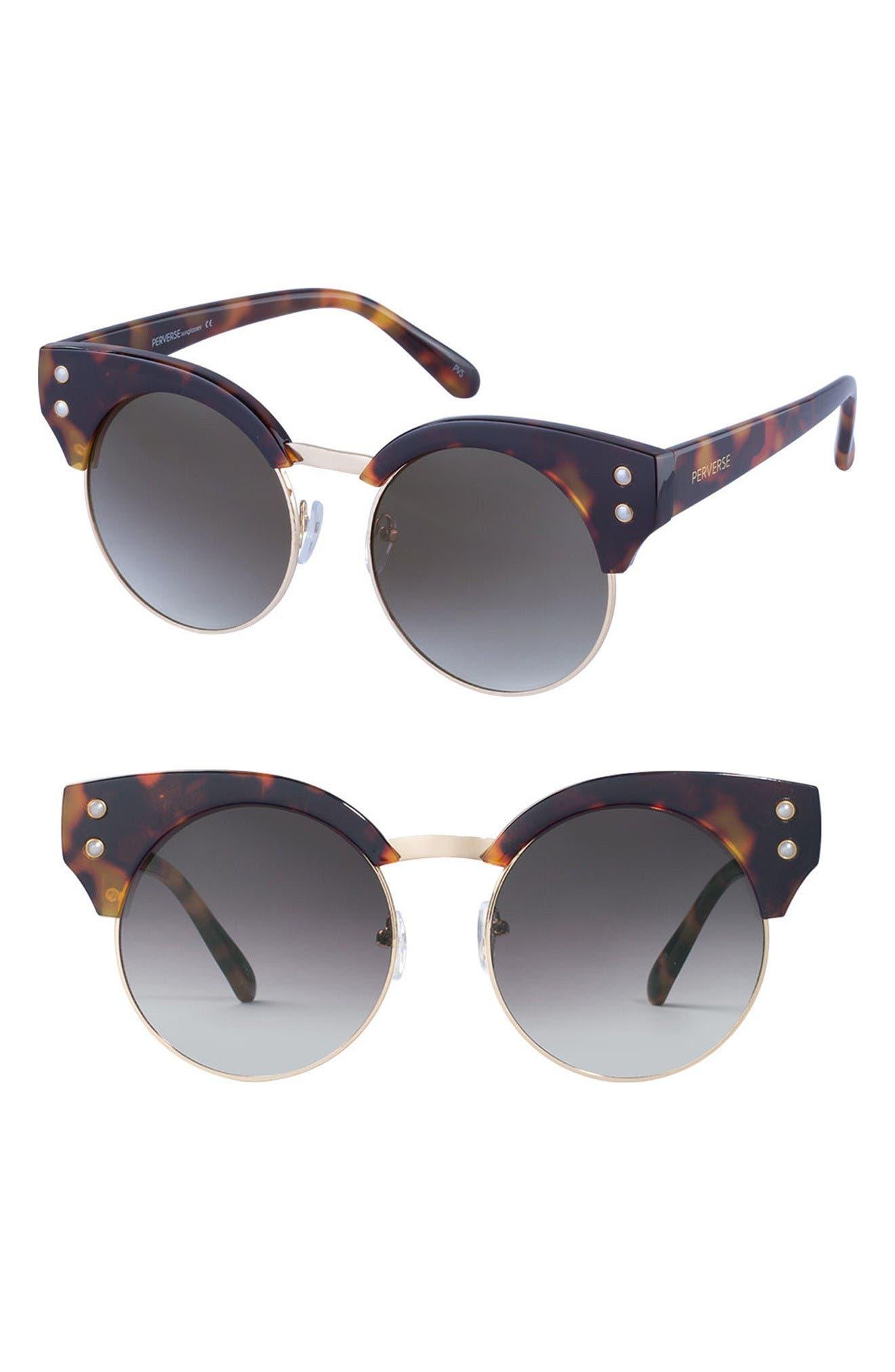 PERVERSE Anastasia 52mm Retro Sunglasses