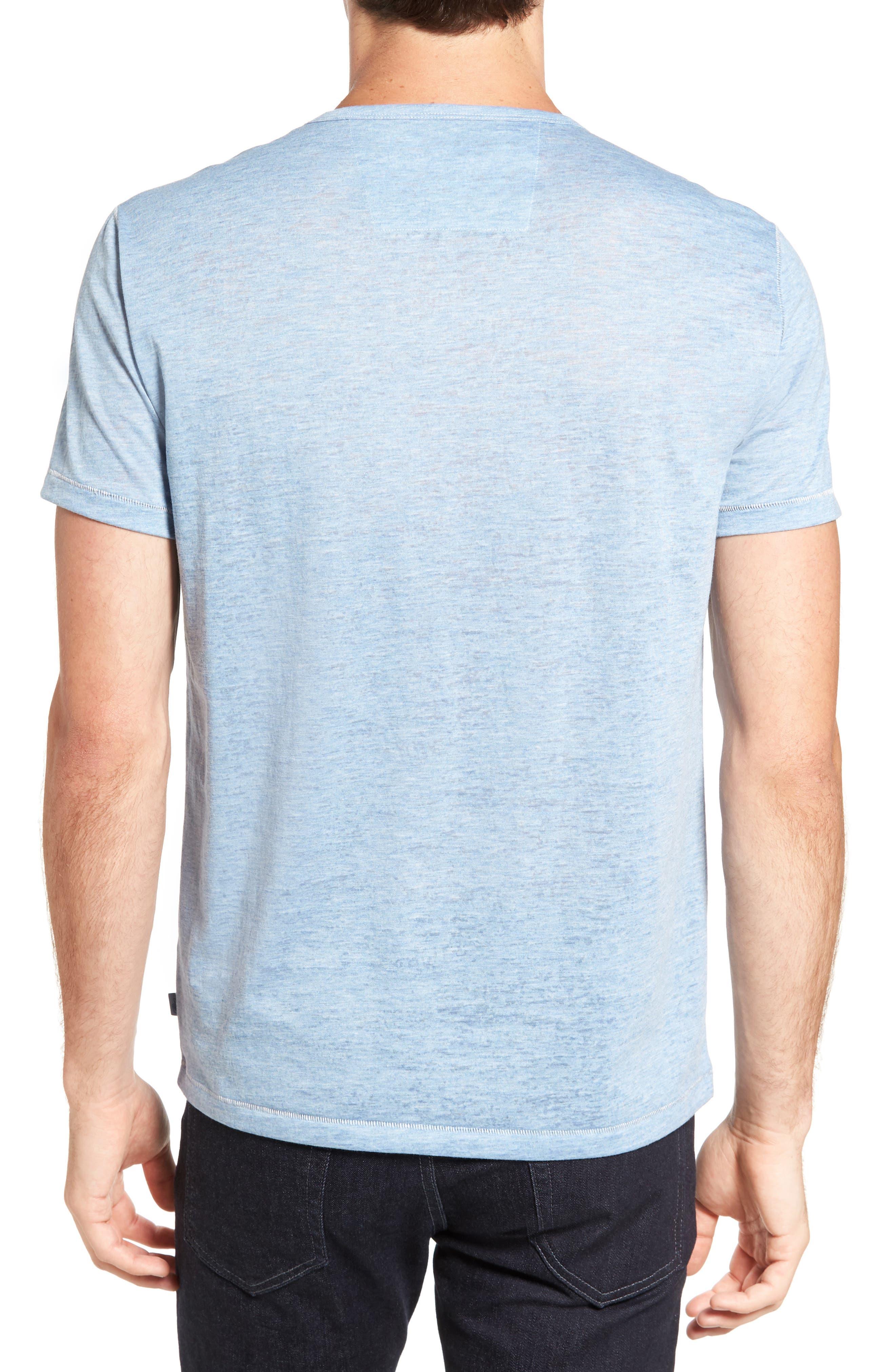 Alternate Image 2  - John Varvatos Star USA Burnout Trim Fit T-Shirt