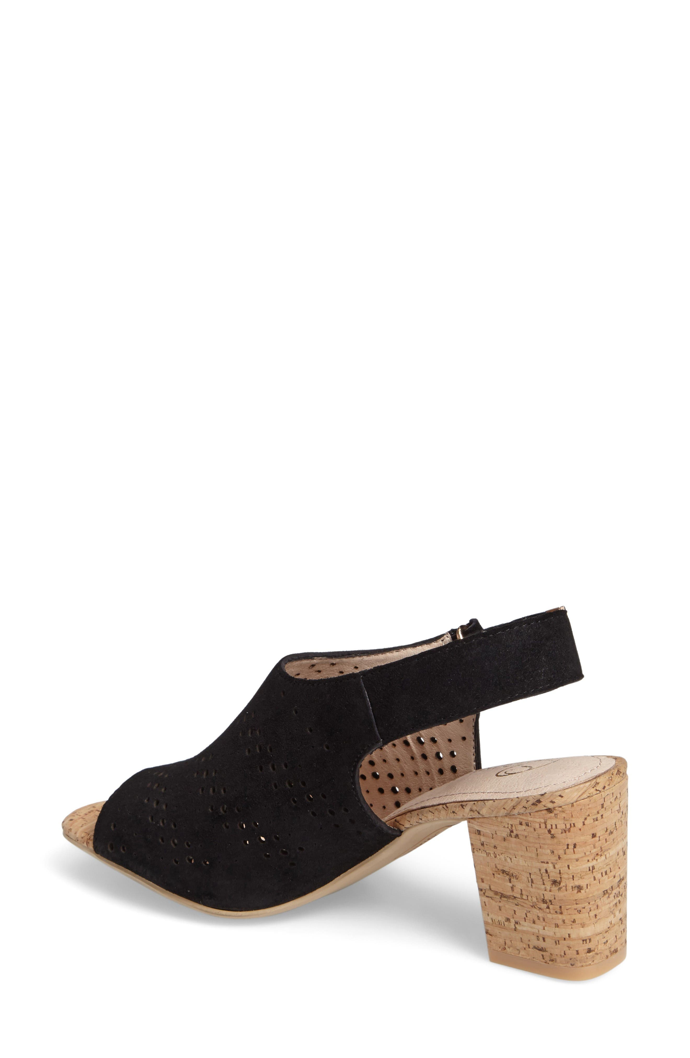 Alternate Image 2  - Sudini Nancy Perforated Sandal (Women)
