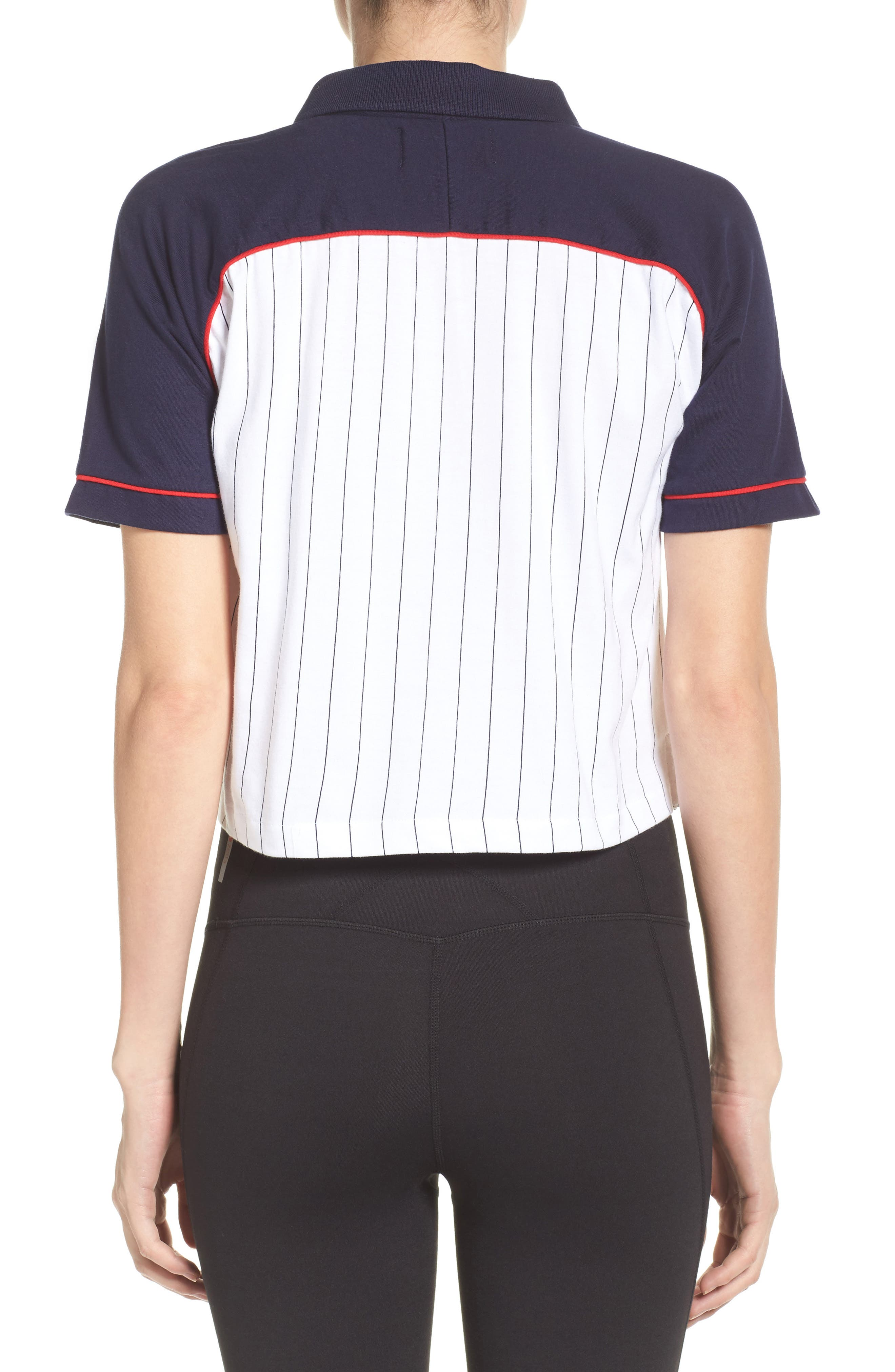 Alternate Image 2  - FILA Carletta Crop Polo