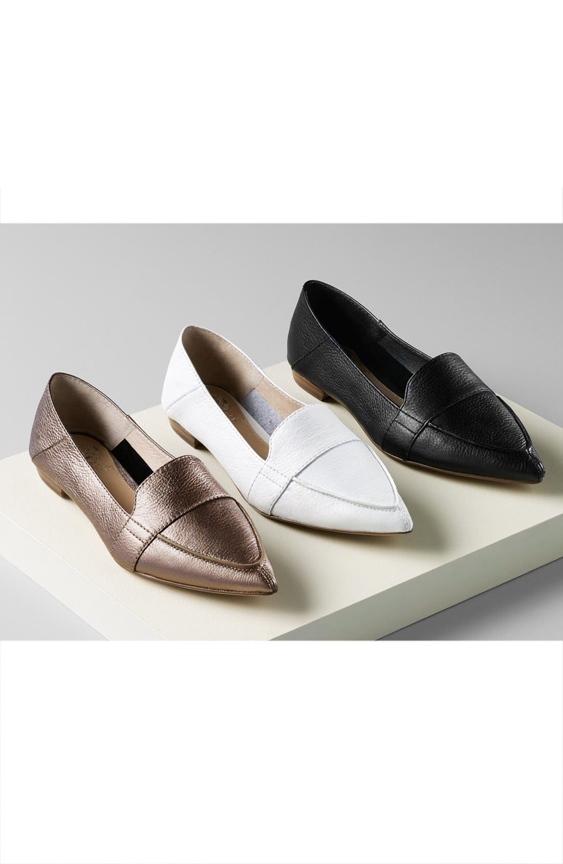 Alternate Image 5  - Vince Camuto Maita Pointy Toe Flat (Women) (Nordstrom Exclusive)
