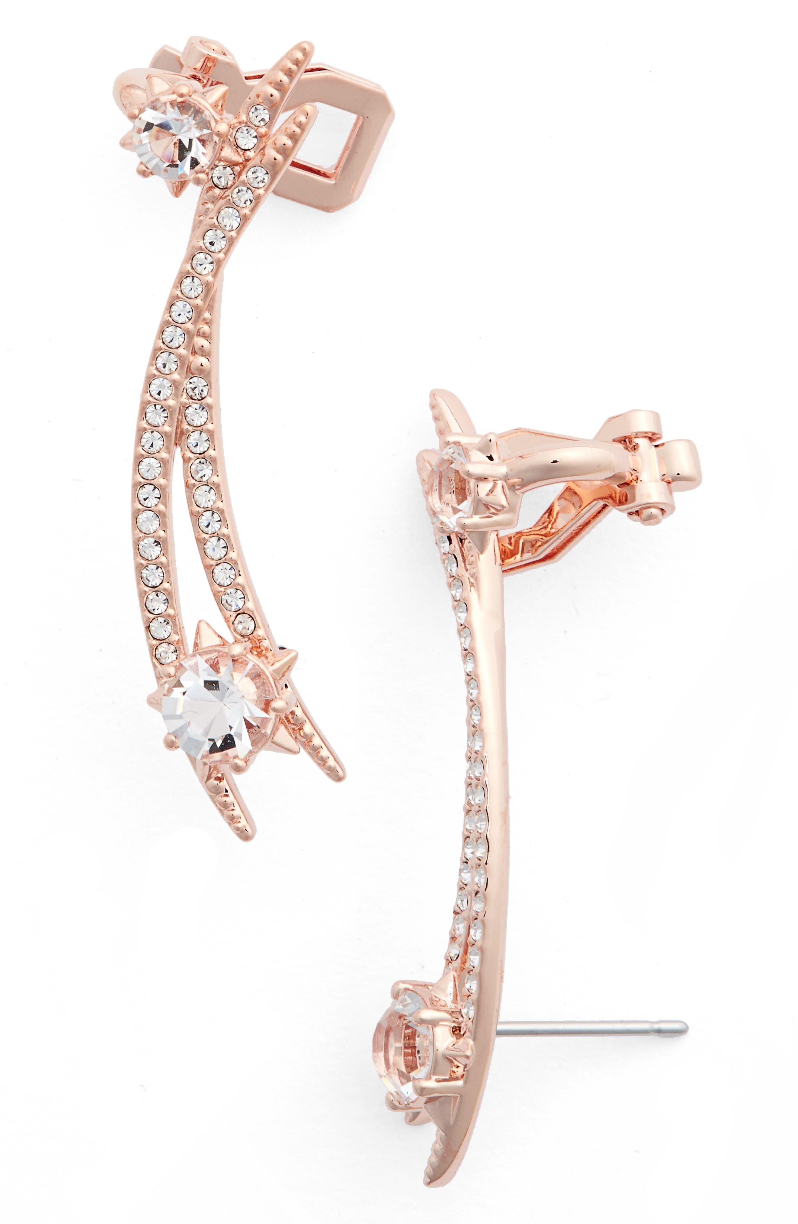 Alternate Image 1 Selected - Nadri Wishes Linear Stud Earrings