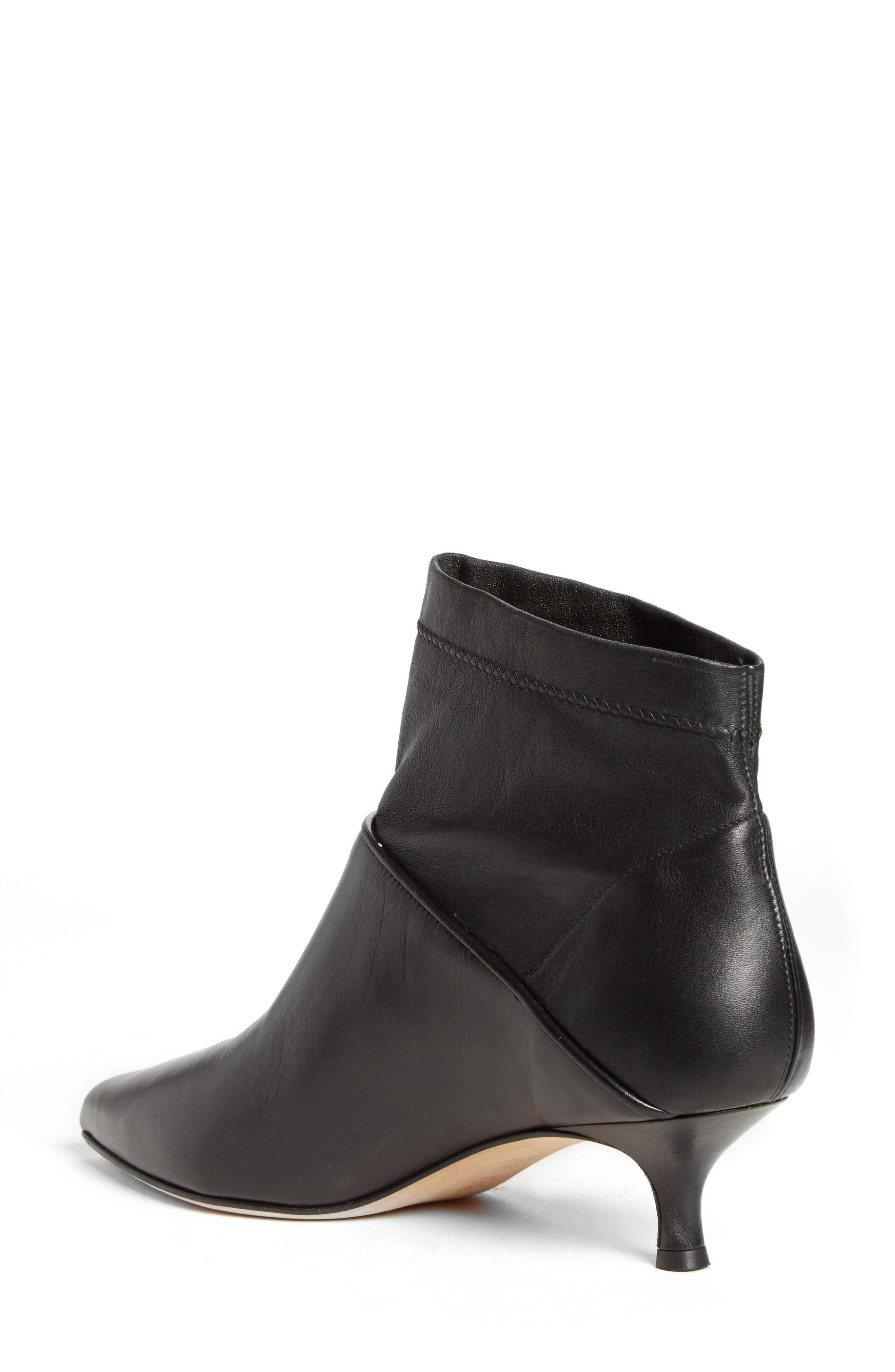 Jean Sock Shaft Bootie,                             Alternate thumbnail 2, color,                             Black