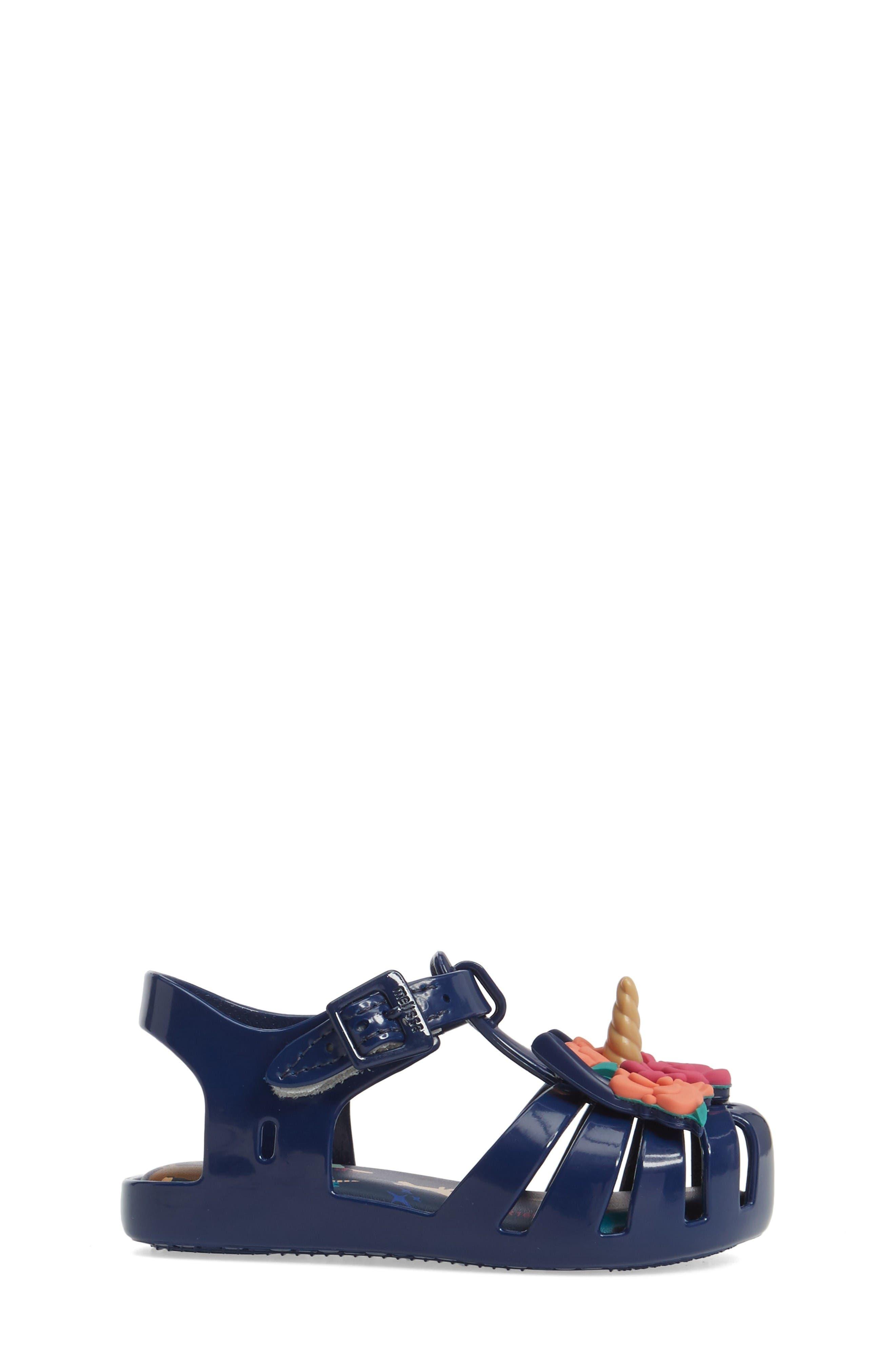 Alternate Image 4  - Mini Melissa Aranha Fabula Unicorn Sandal (Walker & Toddler)