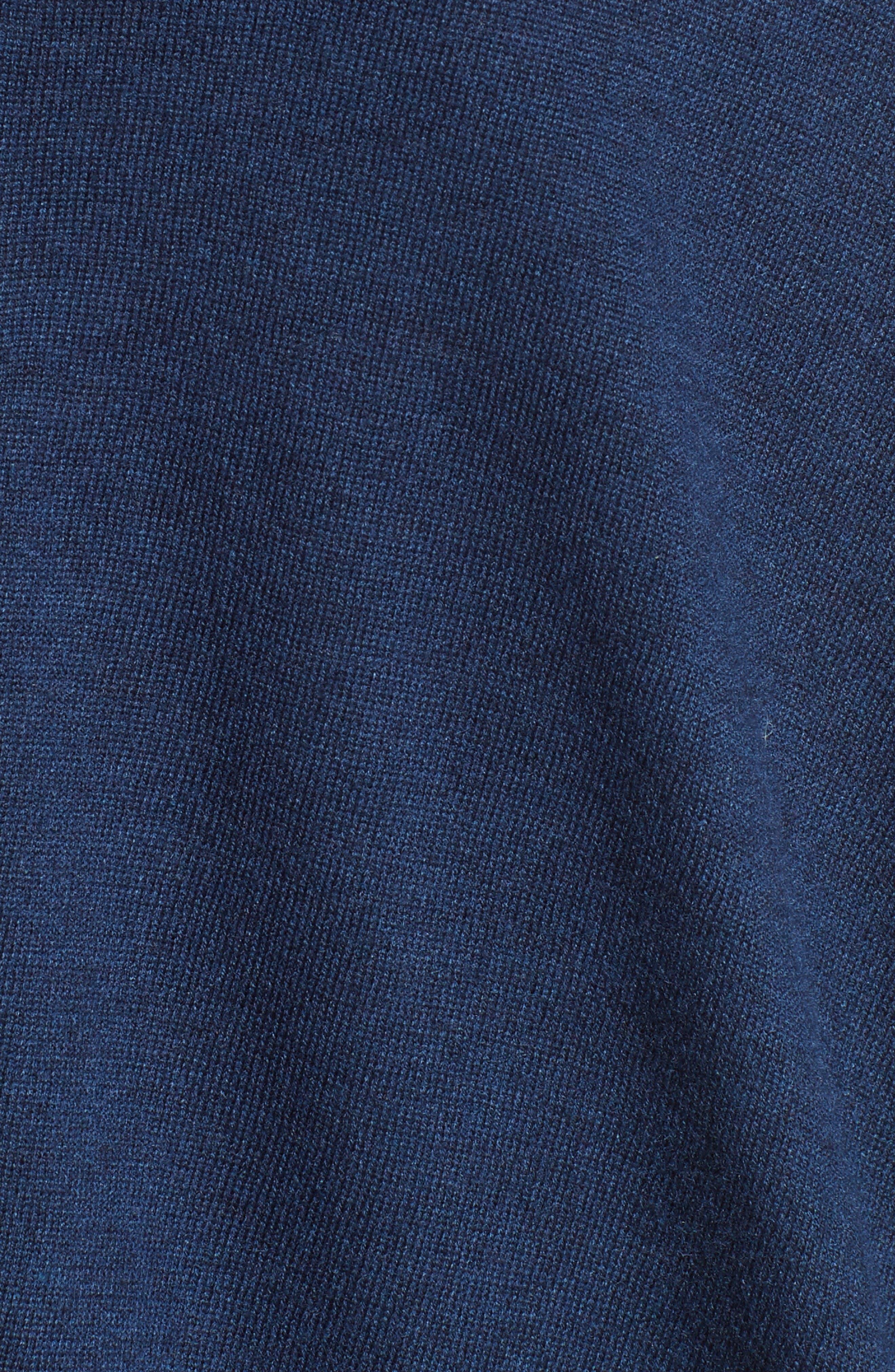 Marlis Knit Cardigan,                             Alternate thumbnail 5, color,                             Dark Navy