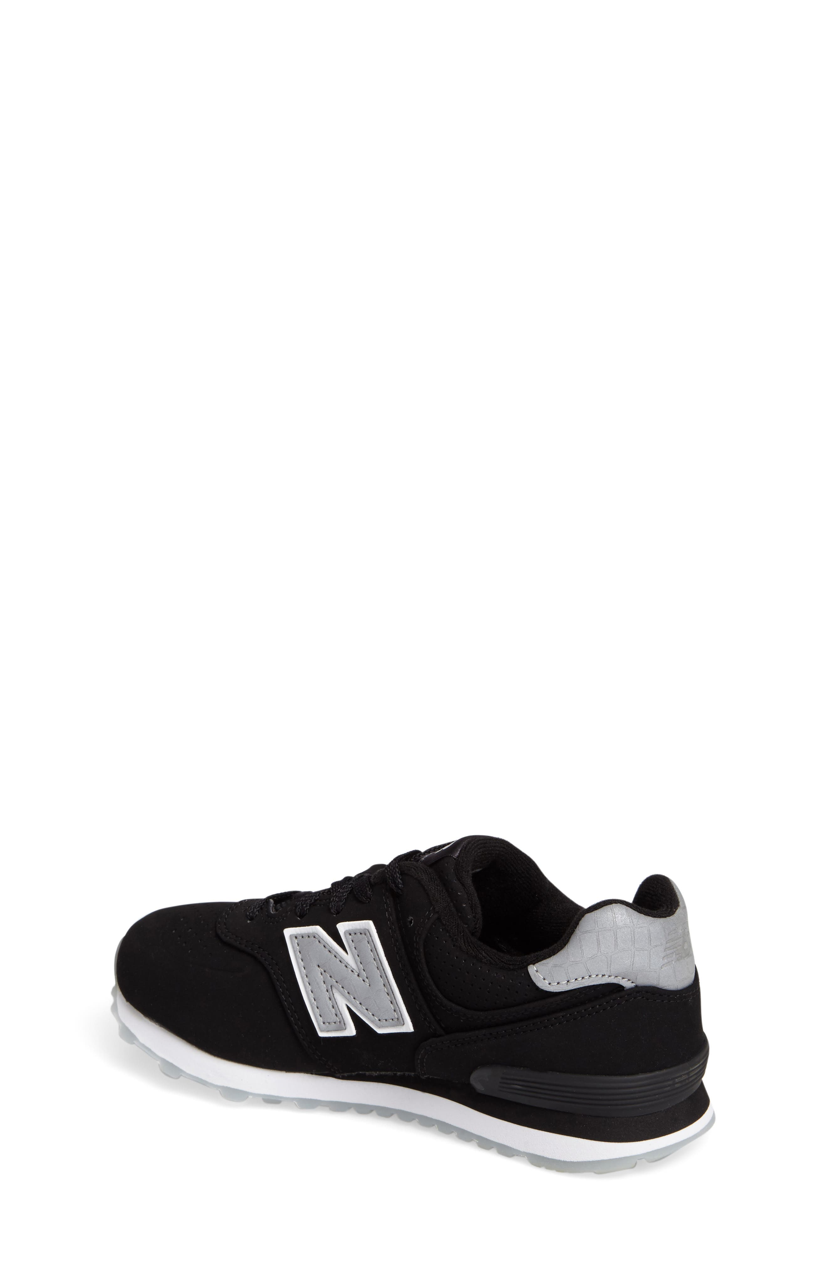 Alternate Image 2  - New Balance 574 Core Plus Sneaker (Baby, Walker, Toddler, Little Kid, Big Kid)