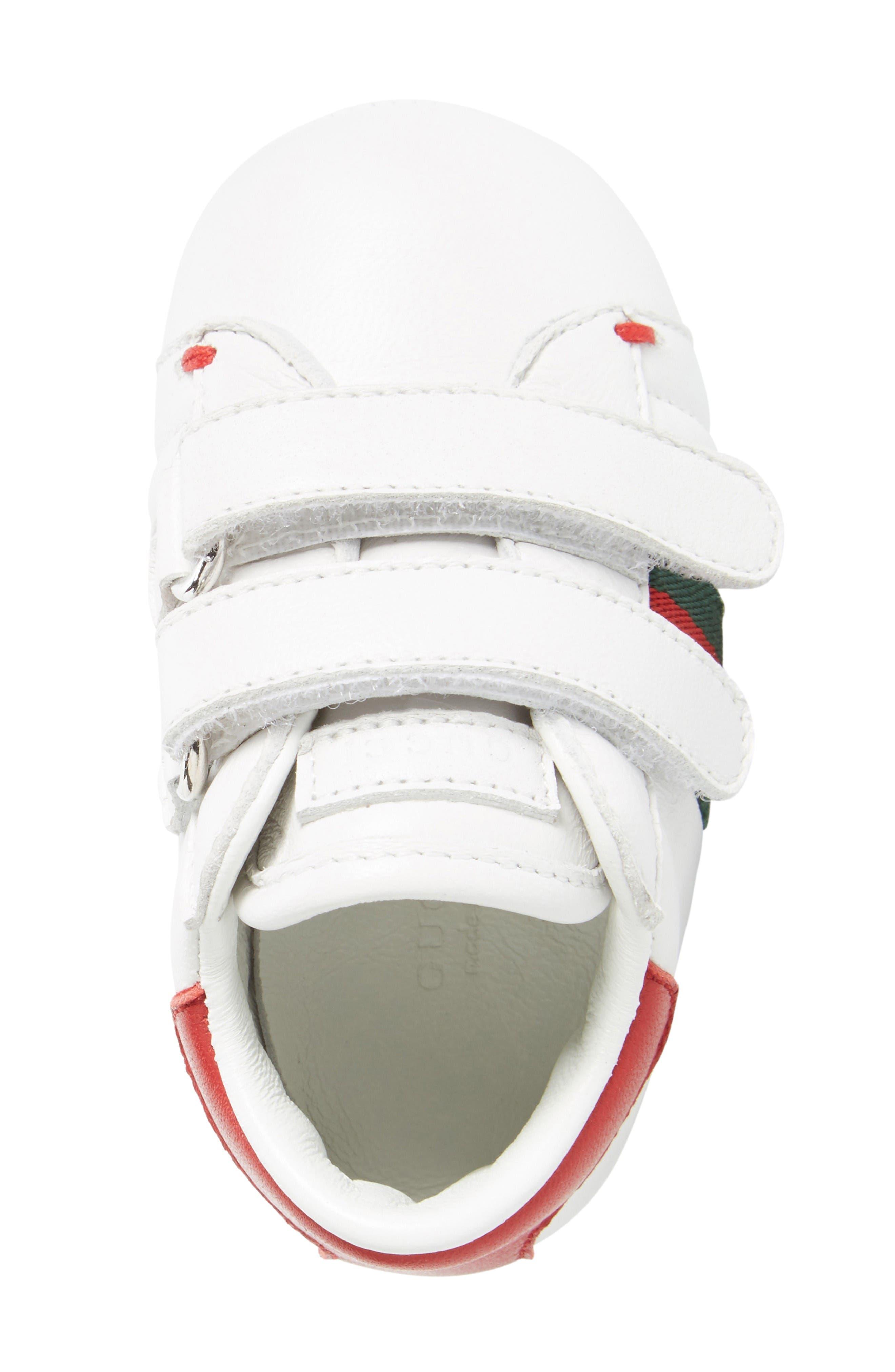 Alternate Image 4  - Gucci 'Ace' Crib Shoe (Baby)