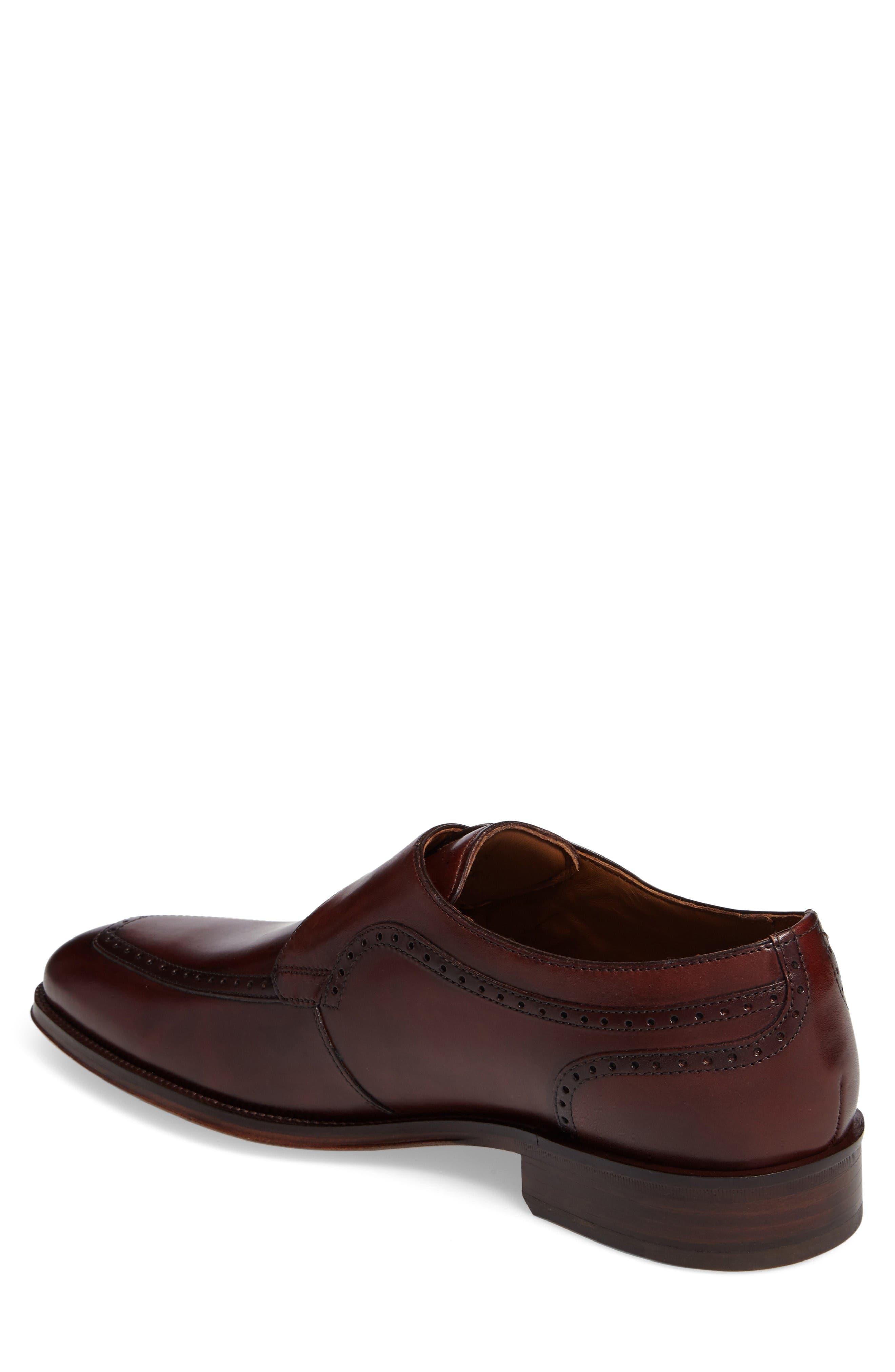 Alternate Image 2  - Johnston & Murphy Boydstun Monk Strap Shoe (Men)