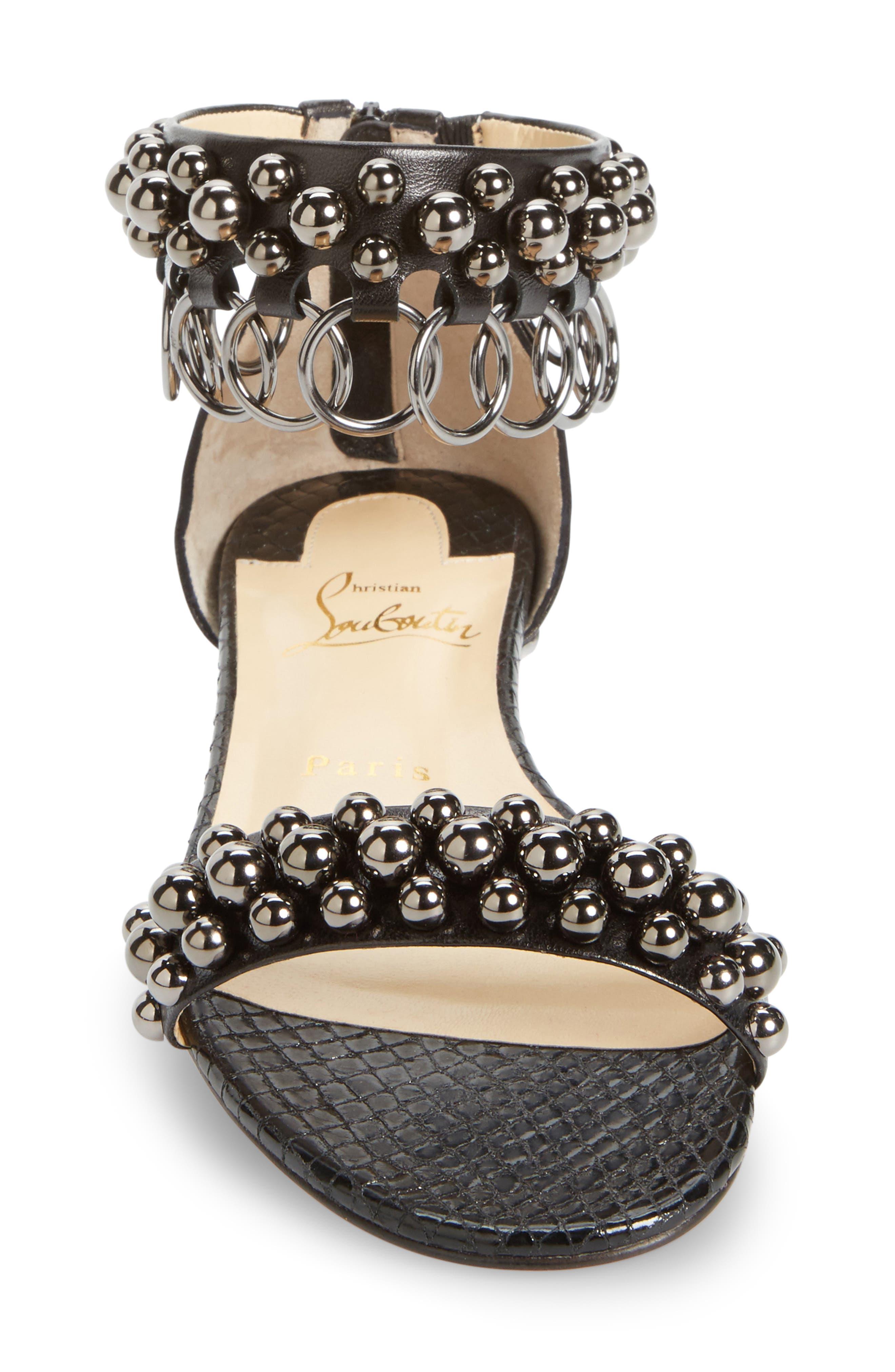 Alternate Image 4  - Christian Louboutin Gypso Ringlet Sandal