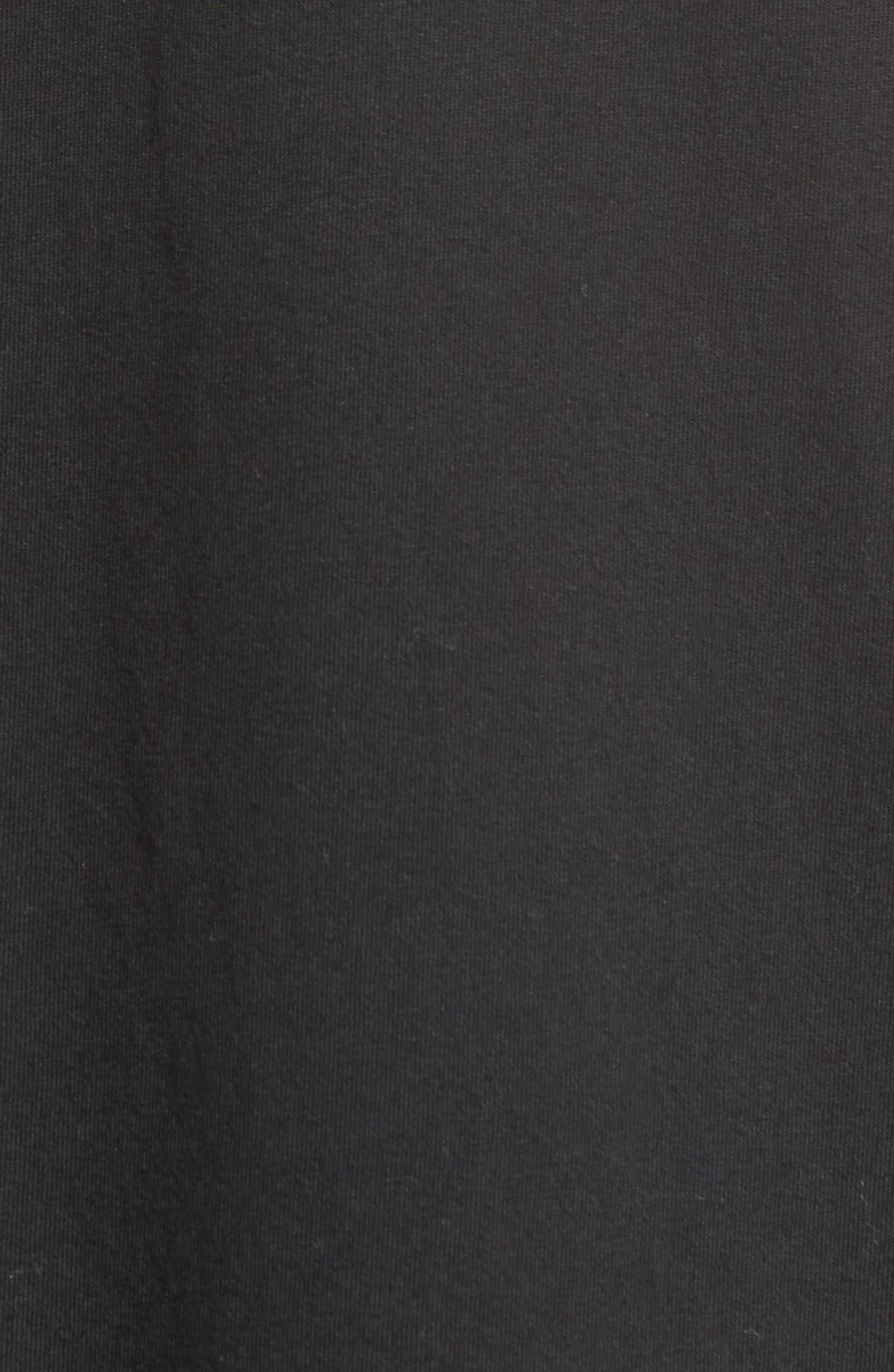 Level T-Shirt,                             Alternate thumbnail 5, color,                             Black