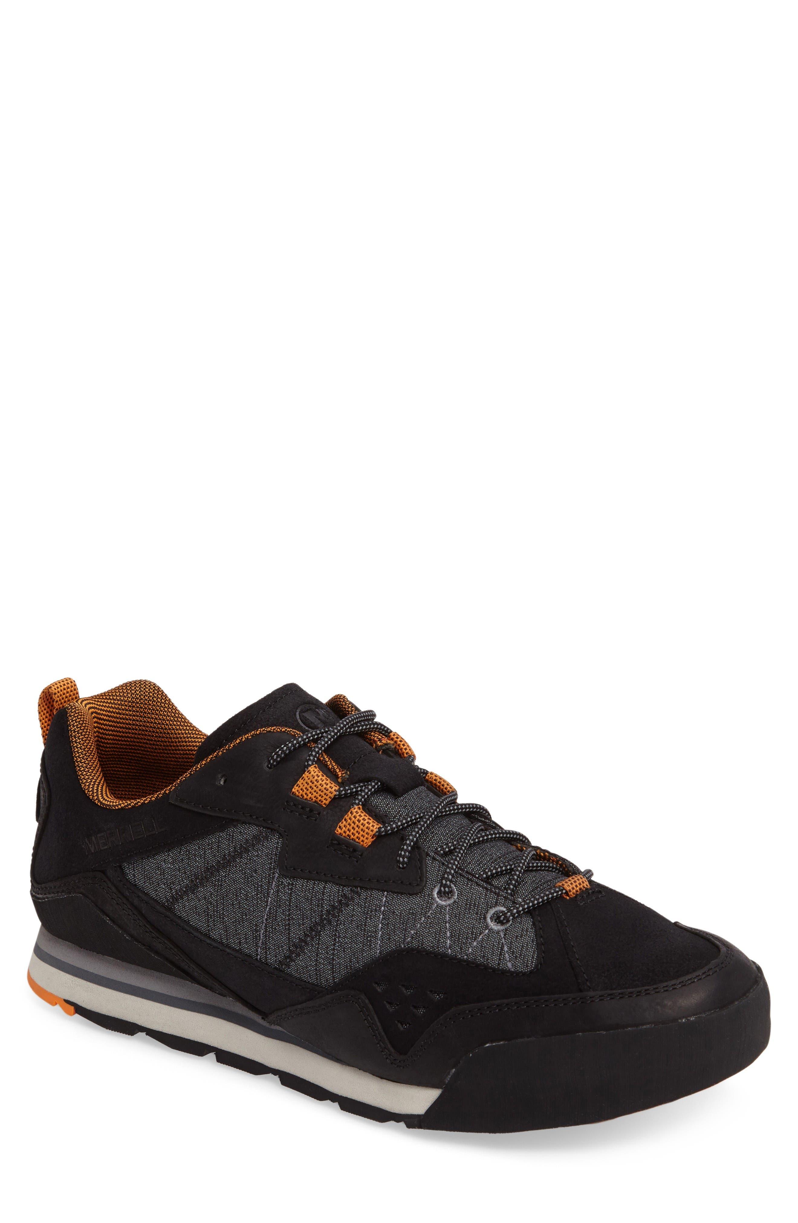 Burnt Rock Sneaker,                         Main,                         color, Black