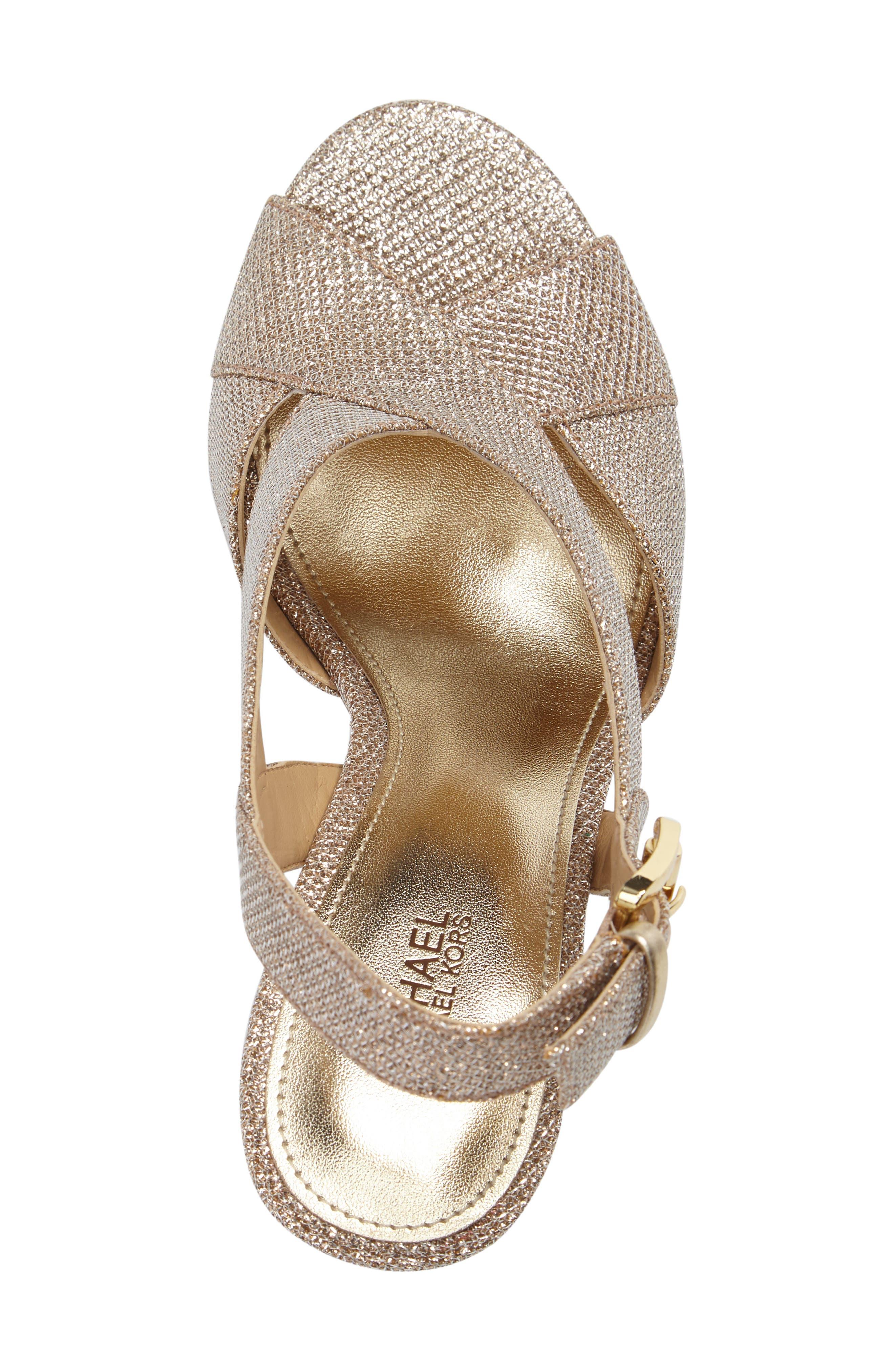Alternate Image 5  - MICHAEL Michael Kors Becky Cross Strap Sandal (Women)