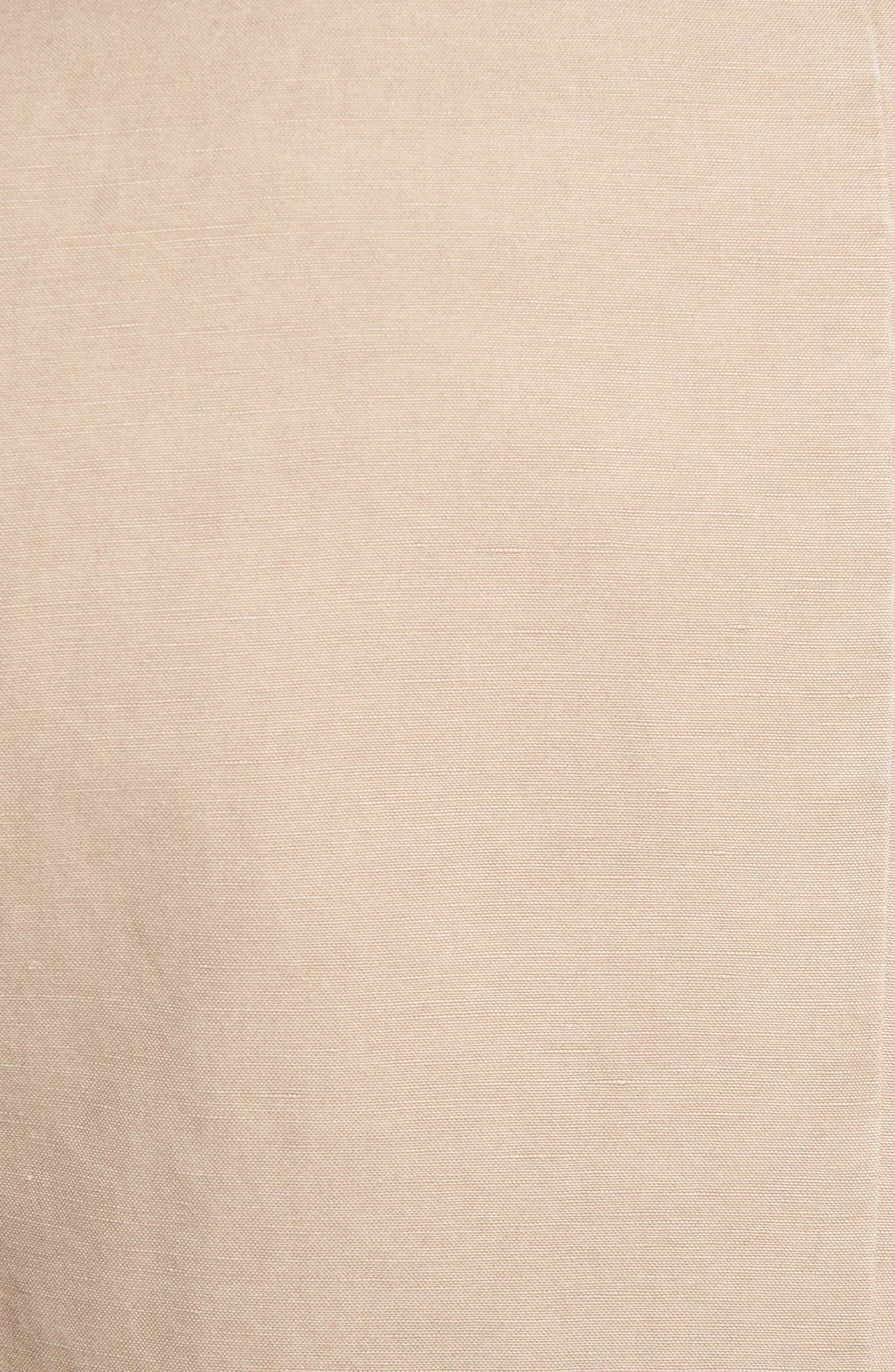 Alternate Image 5  - Sand Trim Fit Cotton & Linen Blazer