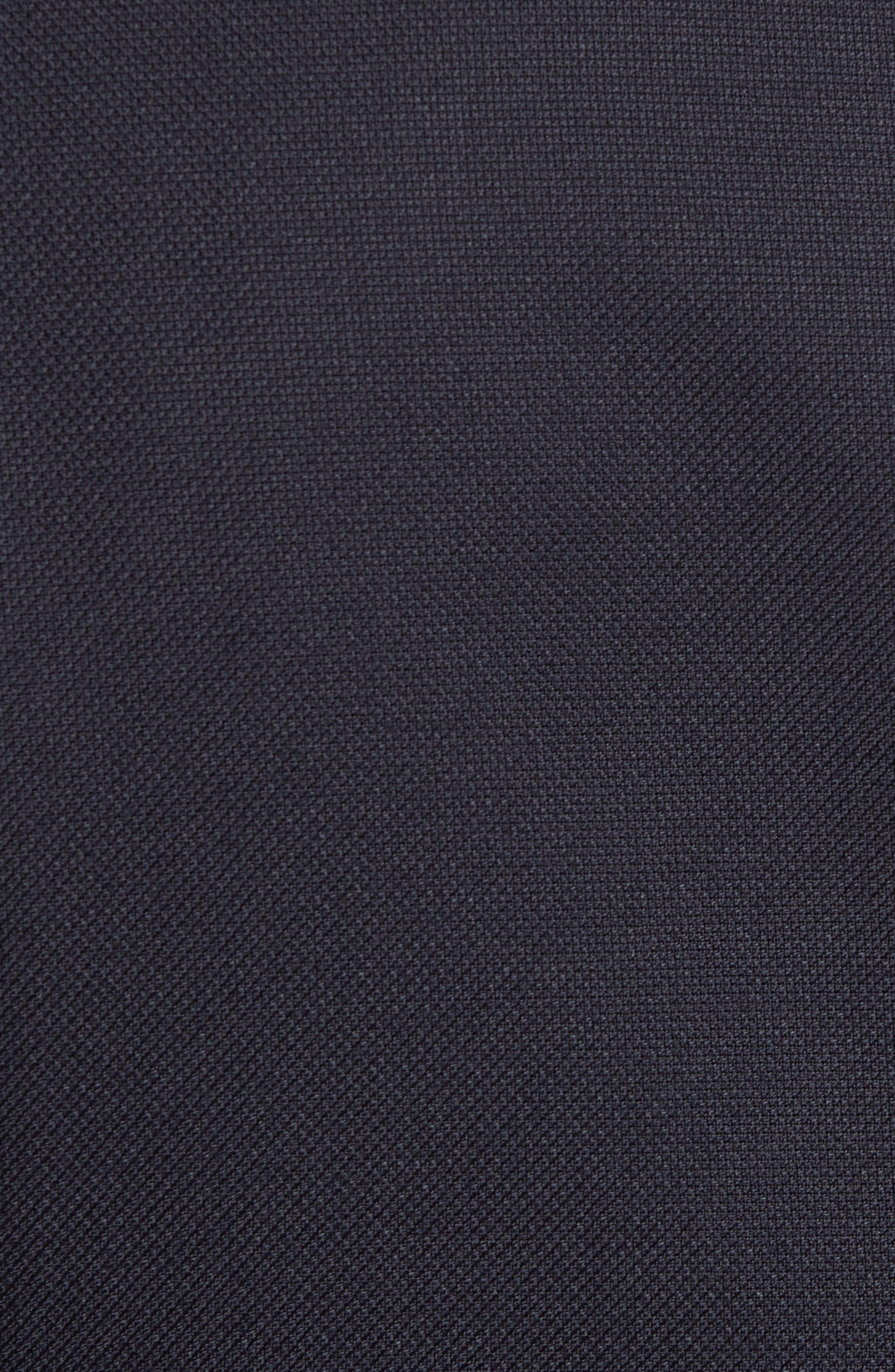 Trim Fit Hopsack Wool Blazer,                             Alternate thumbnail 5, color,                             Navy