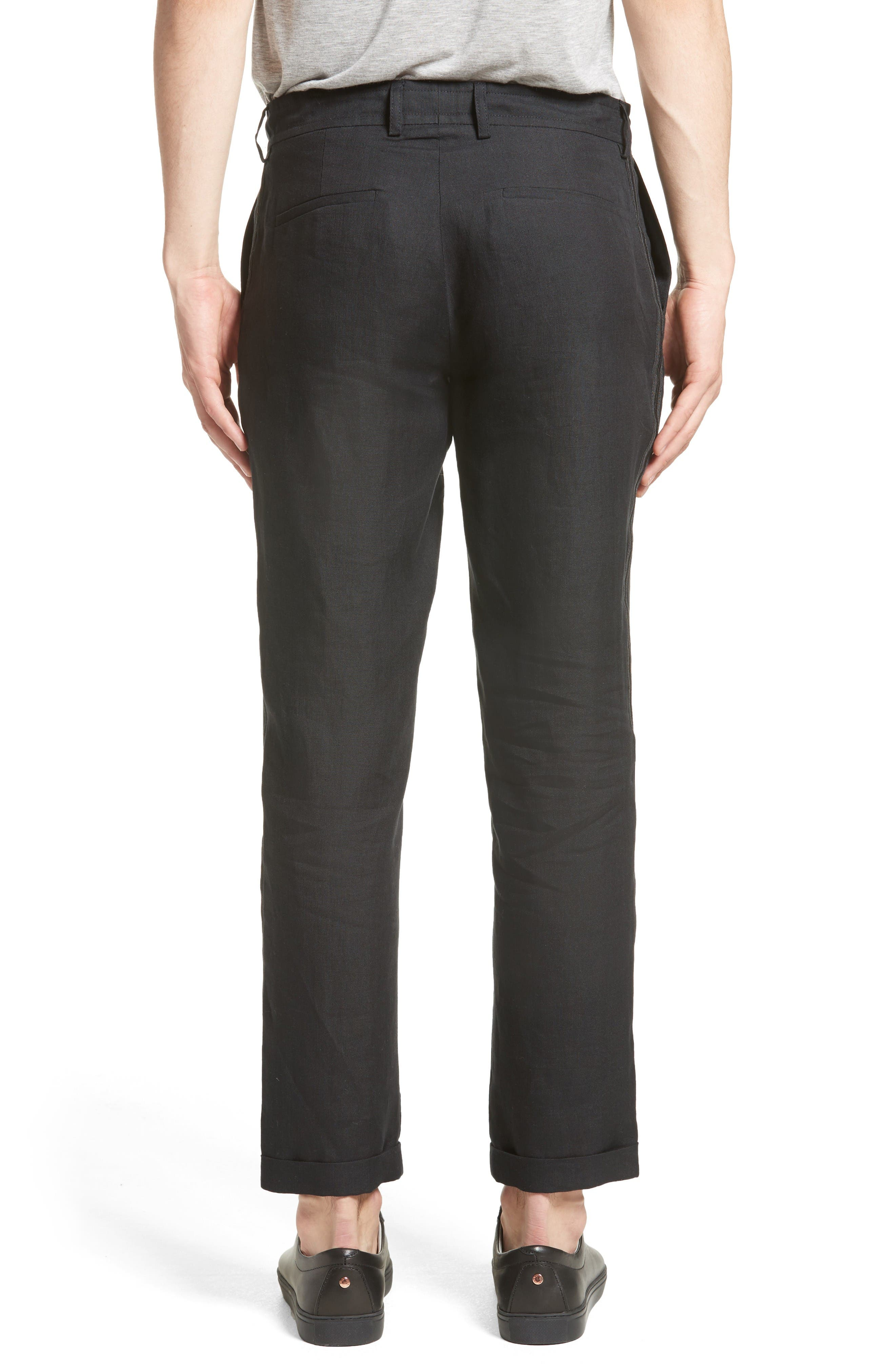Alternate Image 2  - The Kooples Relaxed Fit Linen Pants