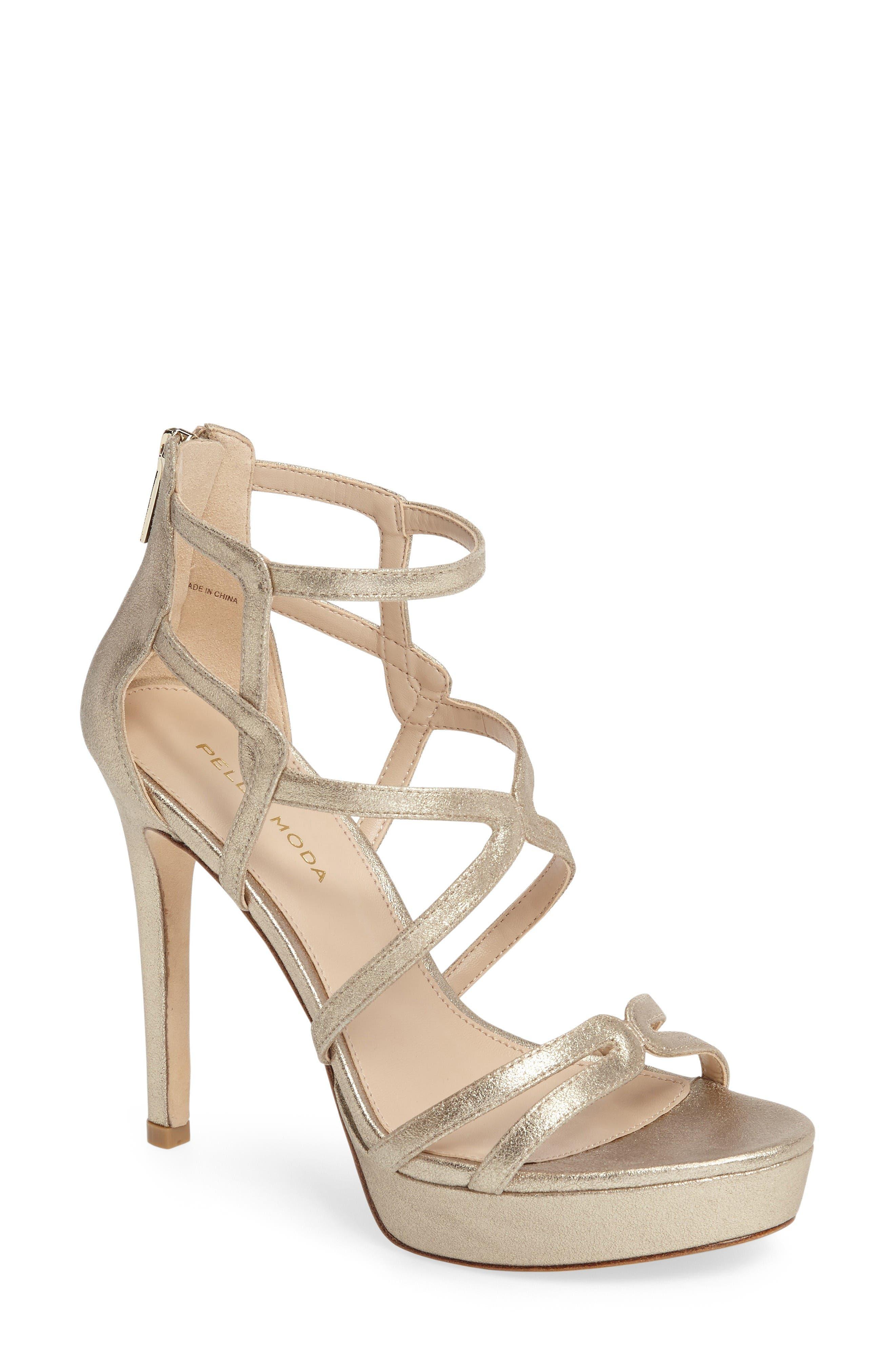 Alternate Image 1 Selected - Pelle Moda Olympic Platform Sandal (Women)