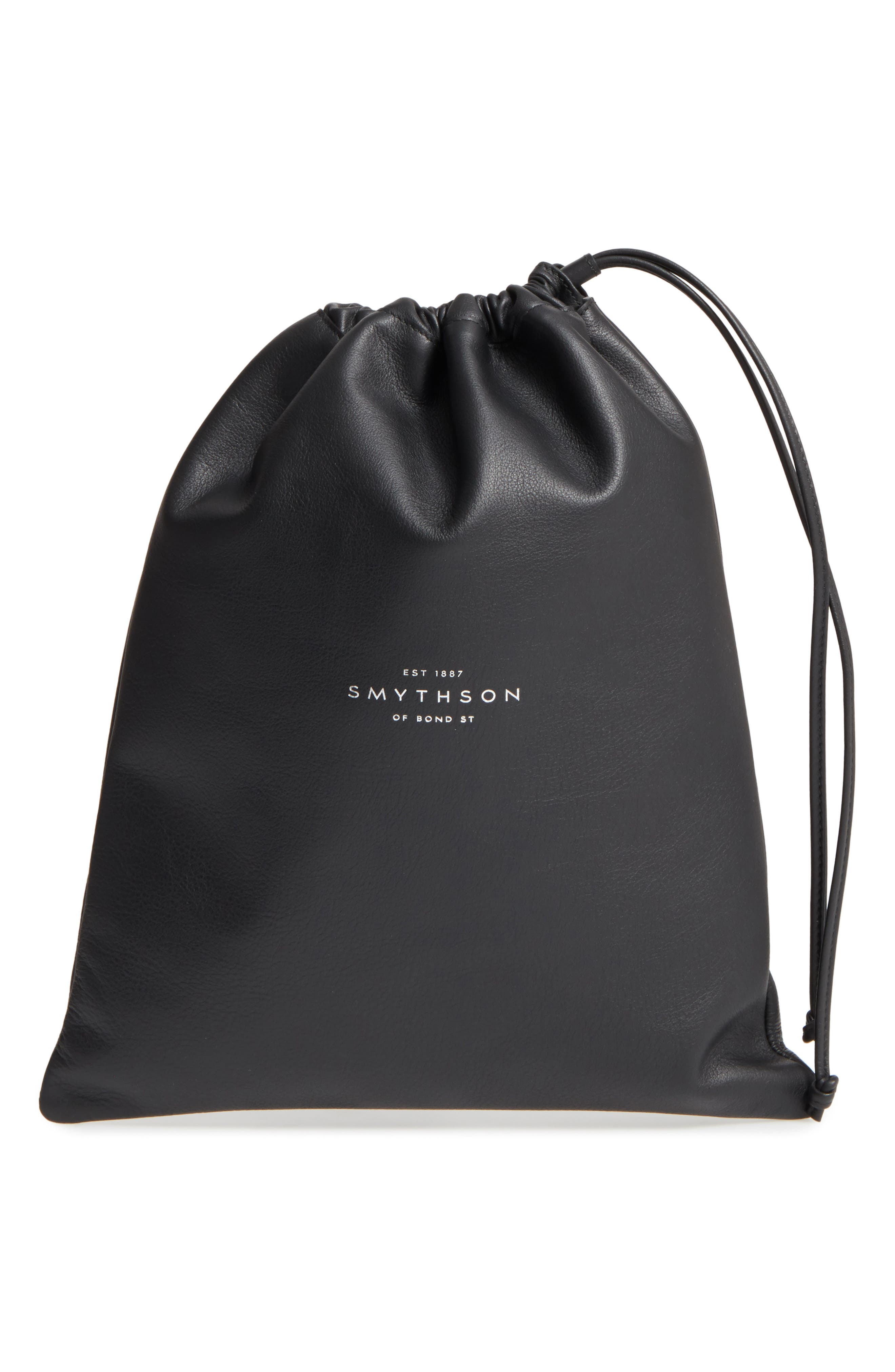 Smythson Large Leather Pouch